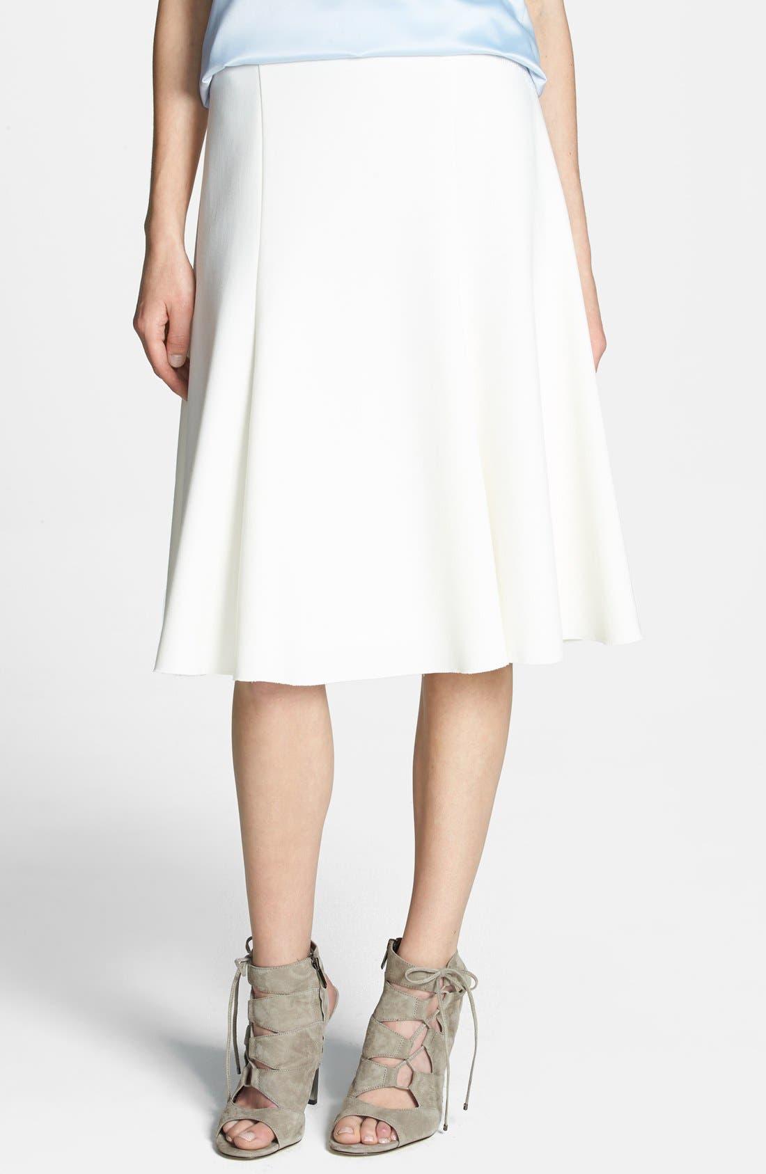 Alternate Image 1 Selected - Chelsea28 Fit & Flare Skirt
