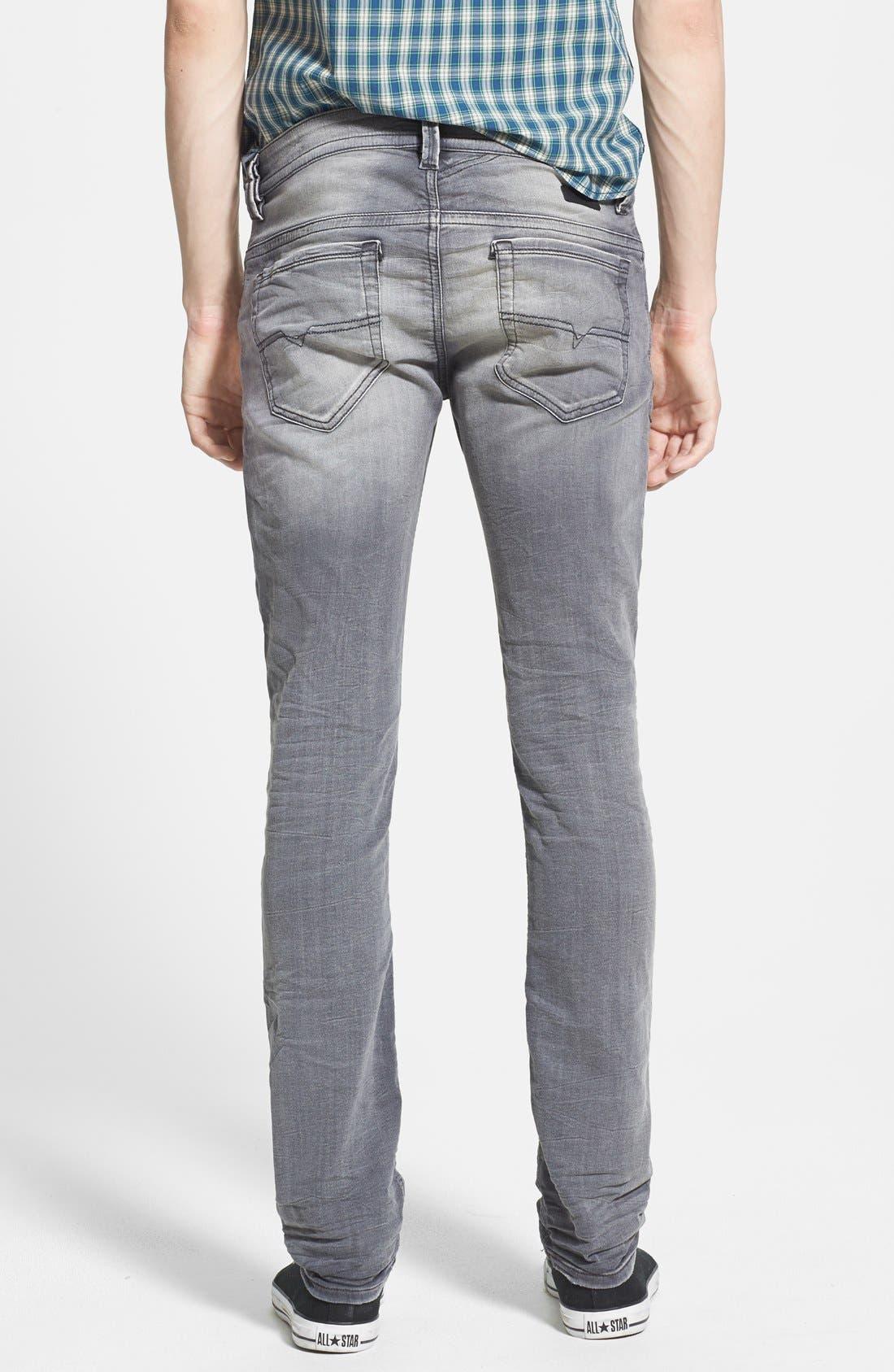 Alternate Image 2  - DIESEL® 'Thavar Jogg' Skinny Fit Jeans (0830Q)