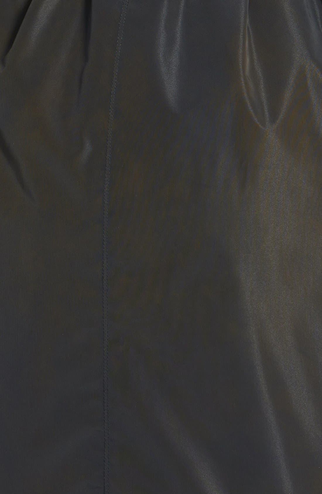 Alternate Image 3  - Ellen Tracy Packable Belted Iridescent Raincoat