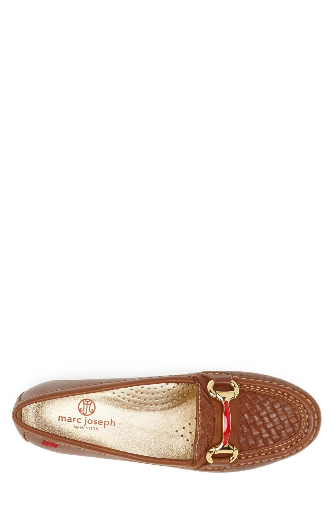 Alternate Image 3  - Marc Joseph New York 'Grand St.' Calfskin Leather Loafer