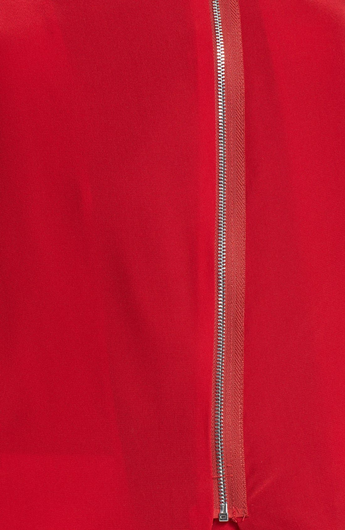 Alternate Image 3  - Bailey 44 'First and Ten' Zip Silk Front Top