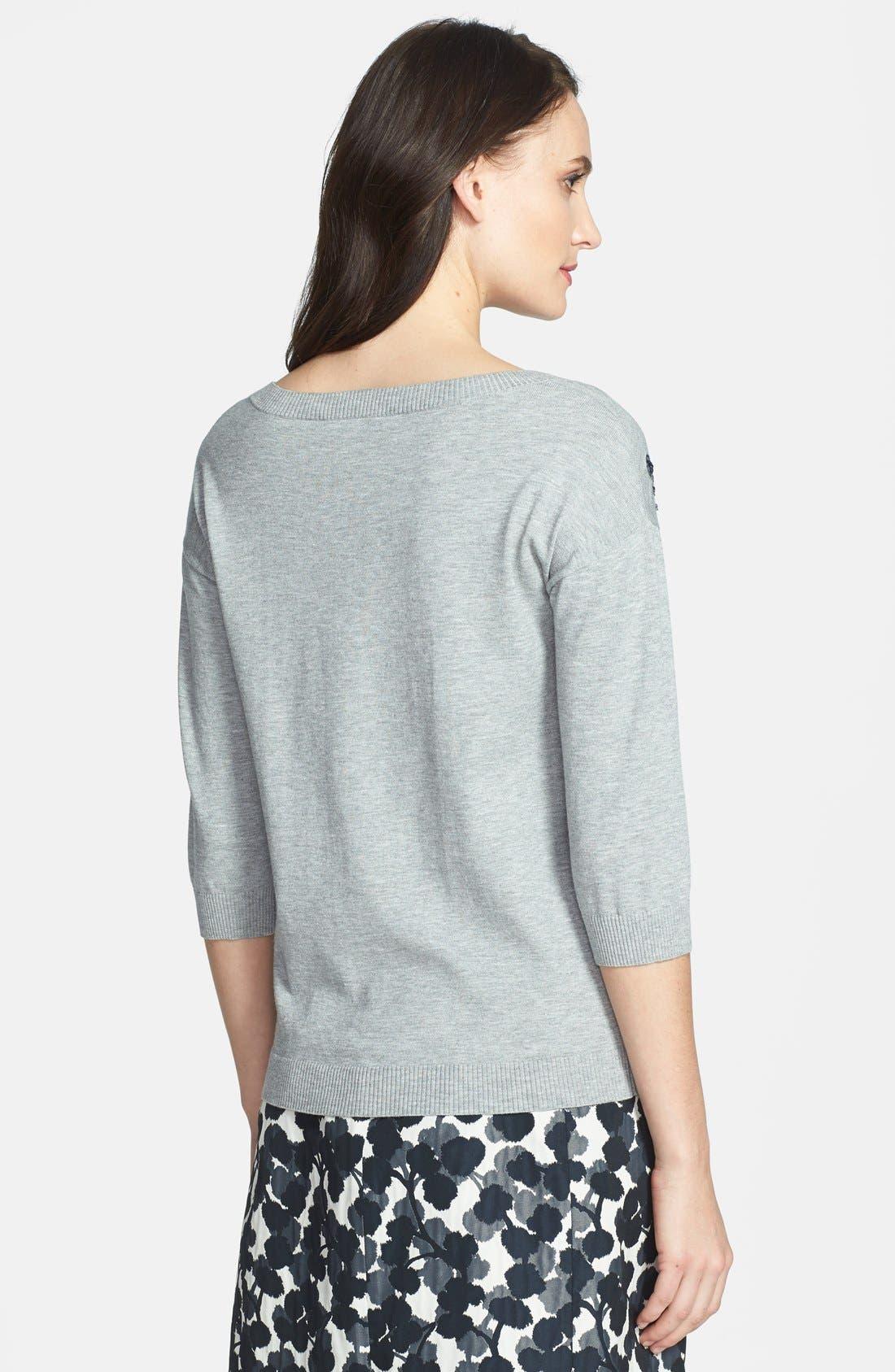 Alternate Image 2  - Weekend Max Mara 'Pandora' Sequin Embroidered Sweater