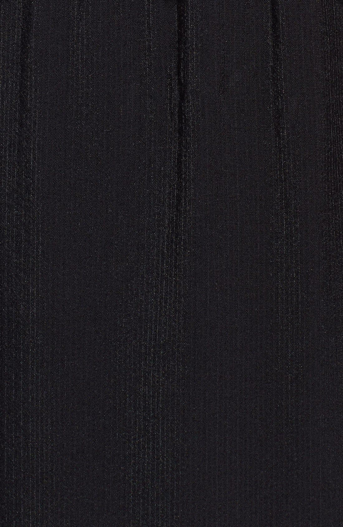 Alternate Image 3  - For Love & Lemons 'Sweet Tea' Lace Trim Crepe Maxi Dress