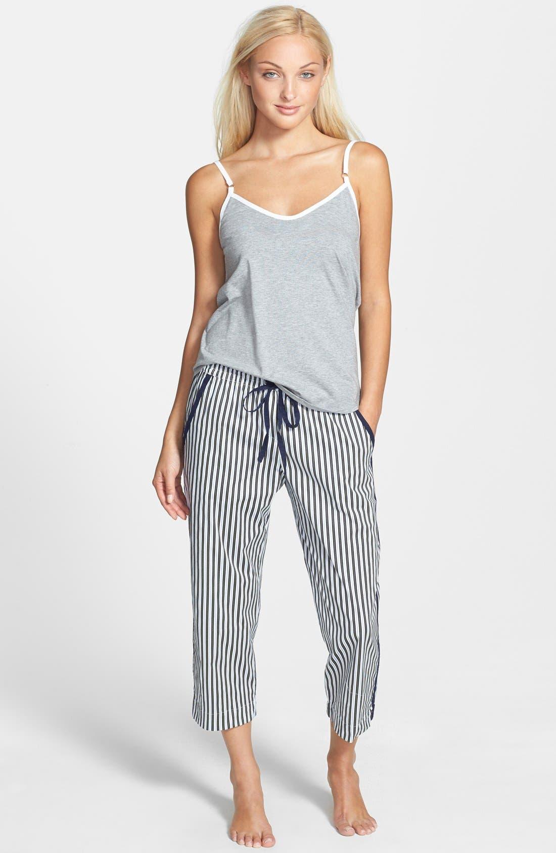 Alternate Image 3  - DKNY 'Seaside Bliss' Cotton Capri Pants