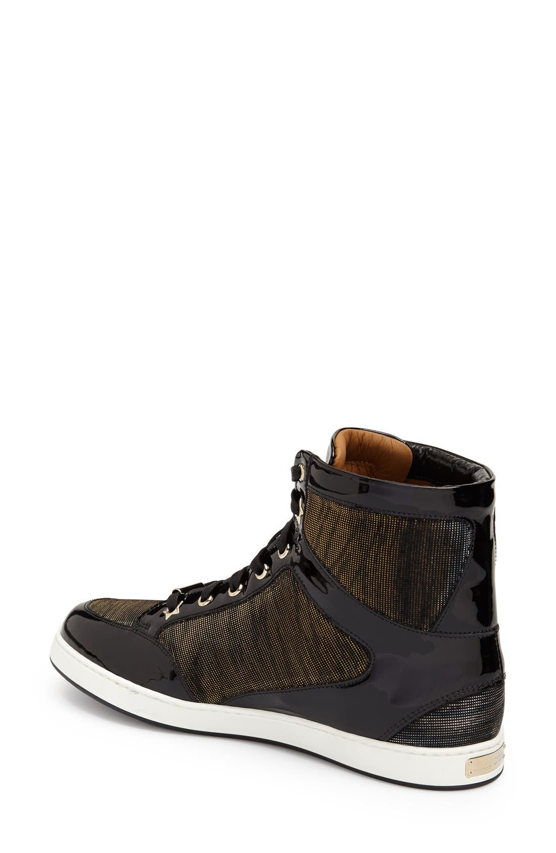 Alternate Image 2  - Jimmy Choo 'Tokyo' High Top Sneaker (Women)