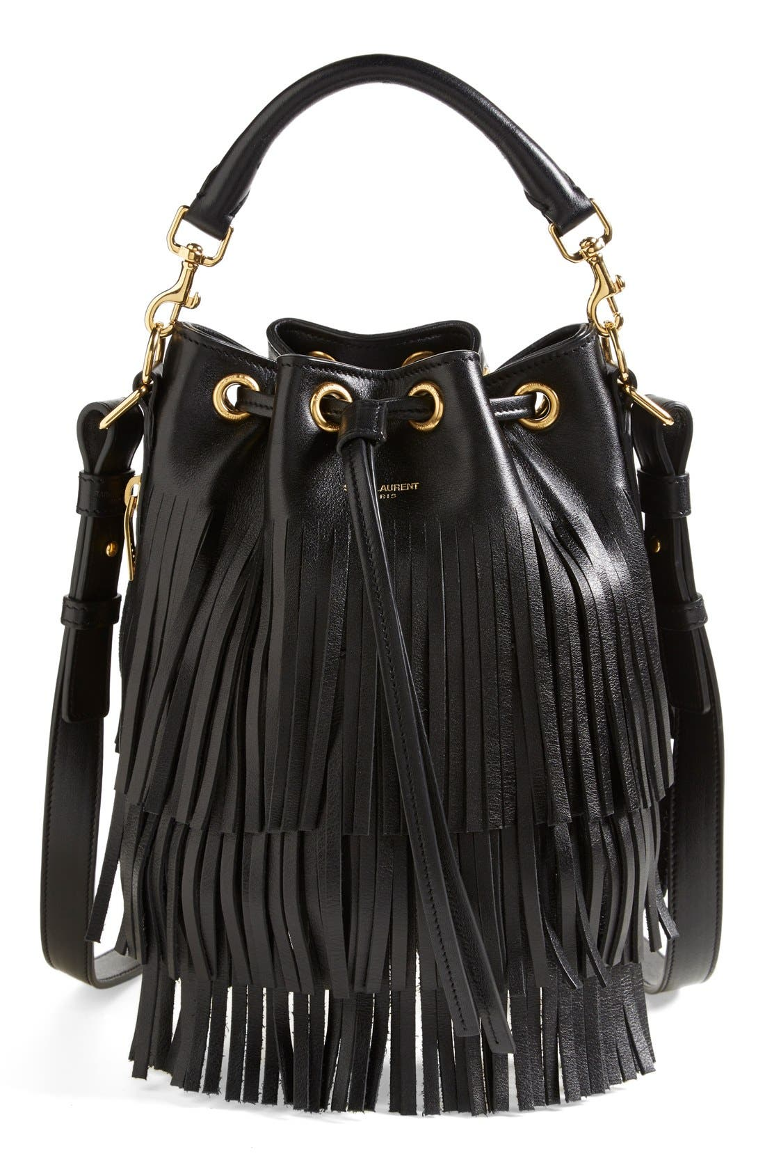 Alternate Image 1 Selected - Saint Laurent 'Small' Bucket Bag