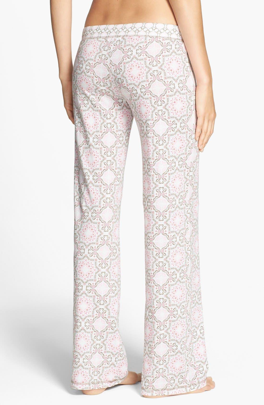 Alternate Image 2  - PJ Salvage 'Print Princess' Jersey Pants