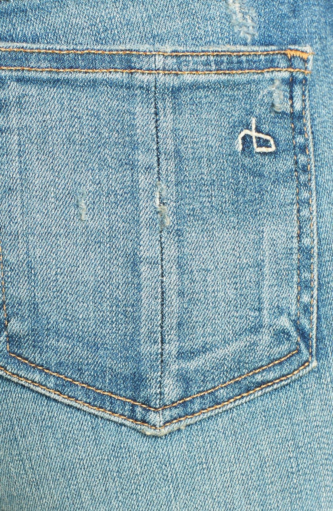 Alternate Image 3  - rag & bone/JEAN Stretch Skinny Jeans