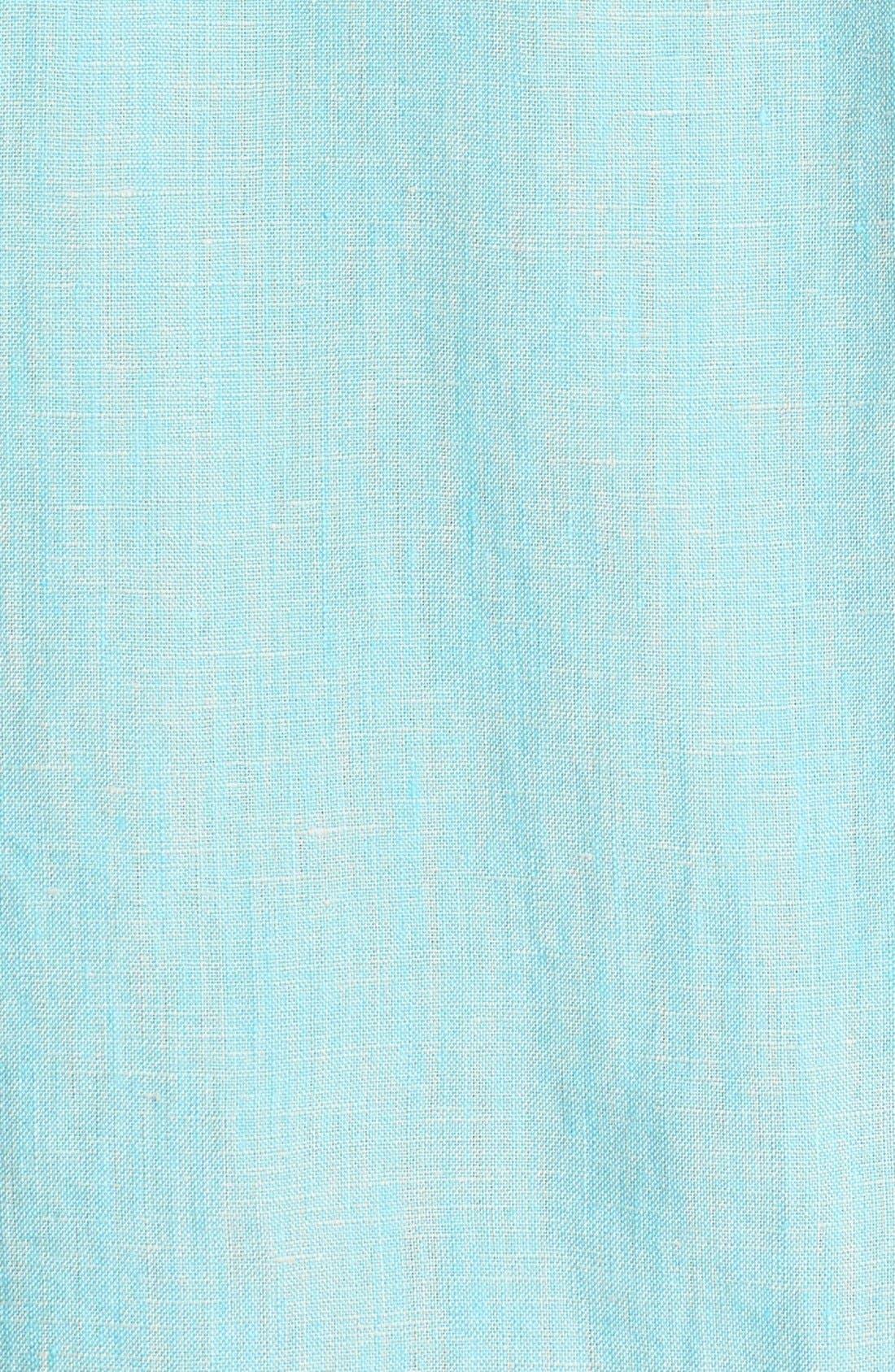 Alternate Image 3  - Tommy Bahama 'Party Breezer' Short Sleeve Linen Sport Shirt