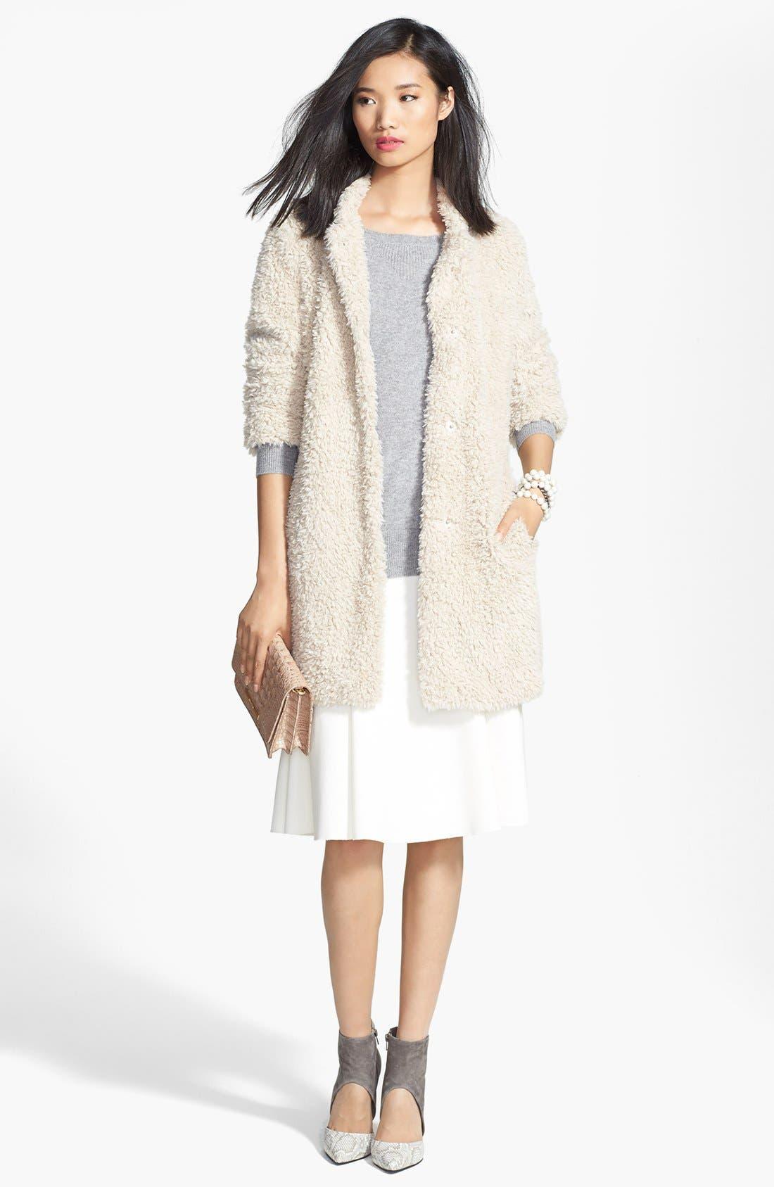 Alternate Image 6  - Chelsea28 Fit & Flare Skirt