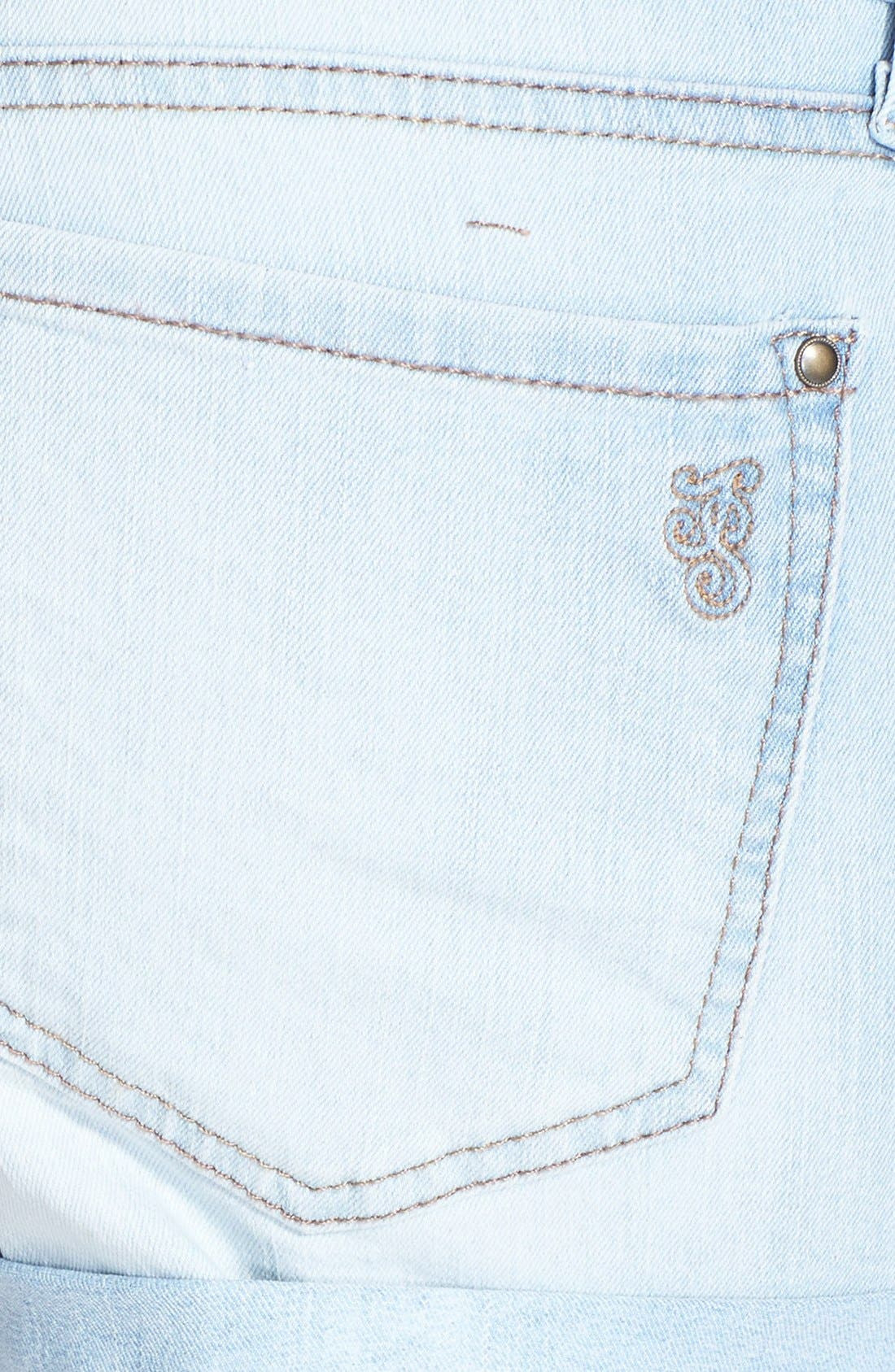 Alternate Image 2  - Jessica Simpson 'Forever' Cuff Denim Shorts