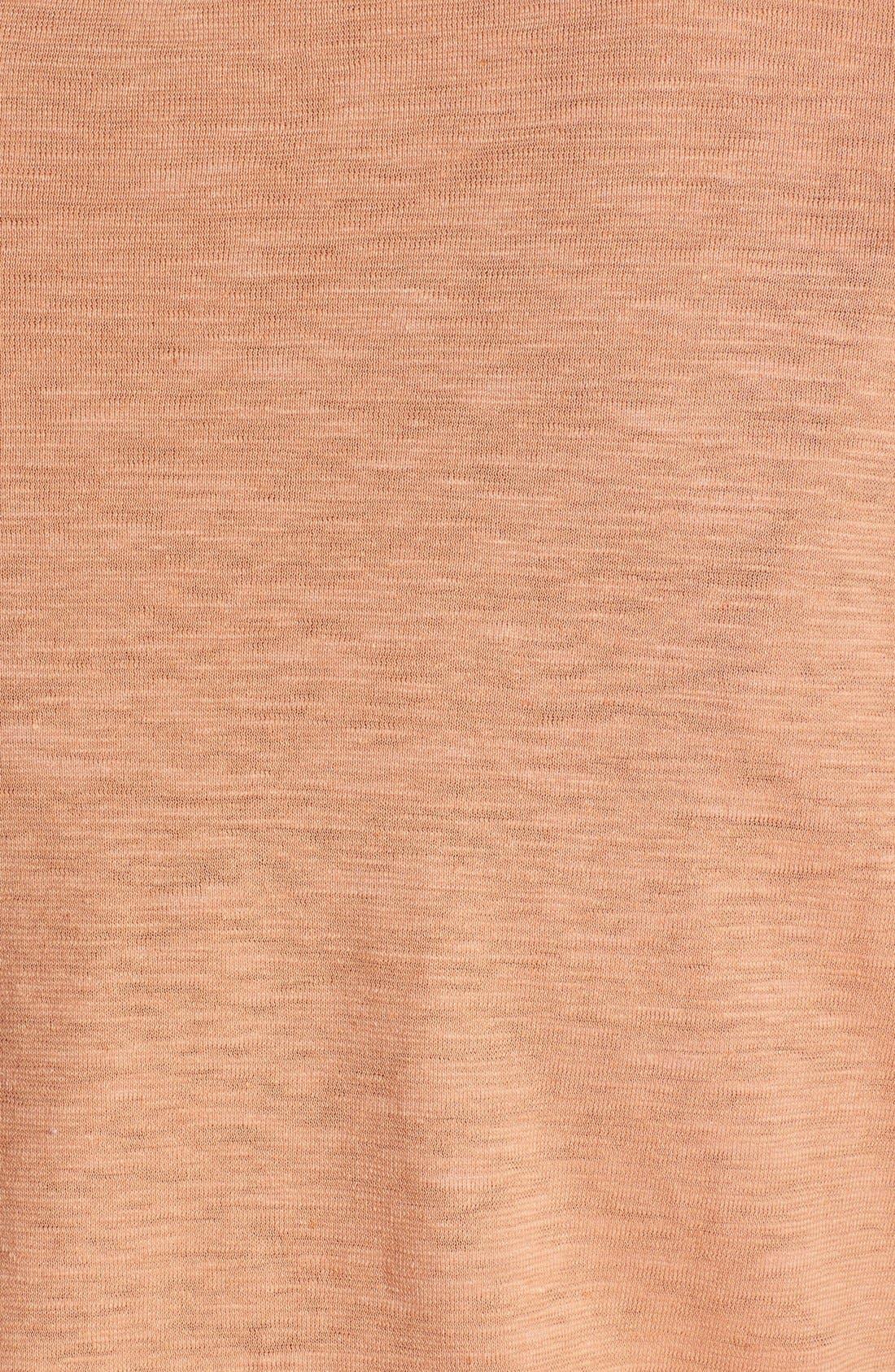 Alternate Image 3  - Eileen Fisher Hemp & Organic Cotton Scoop Neck Top