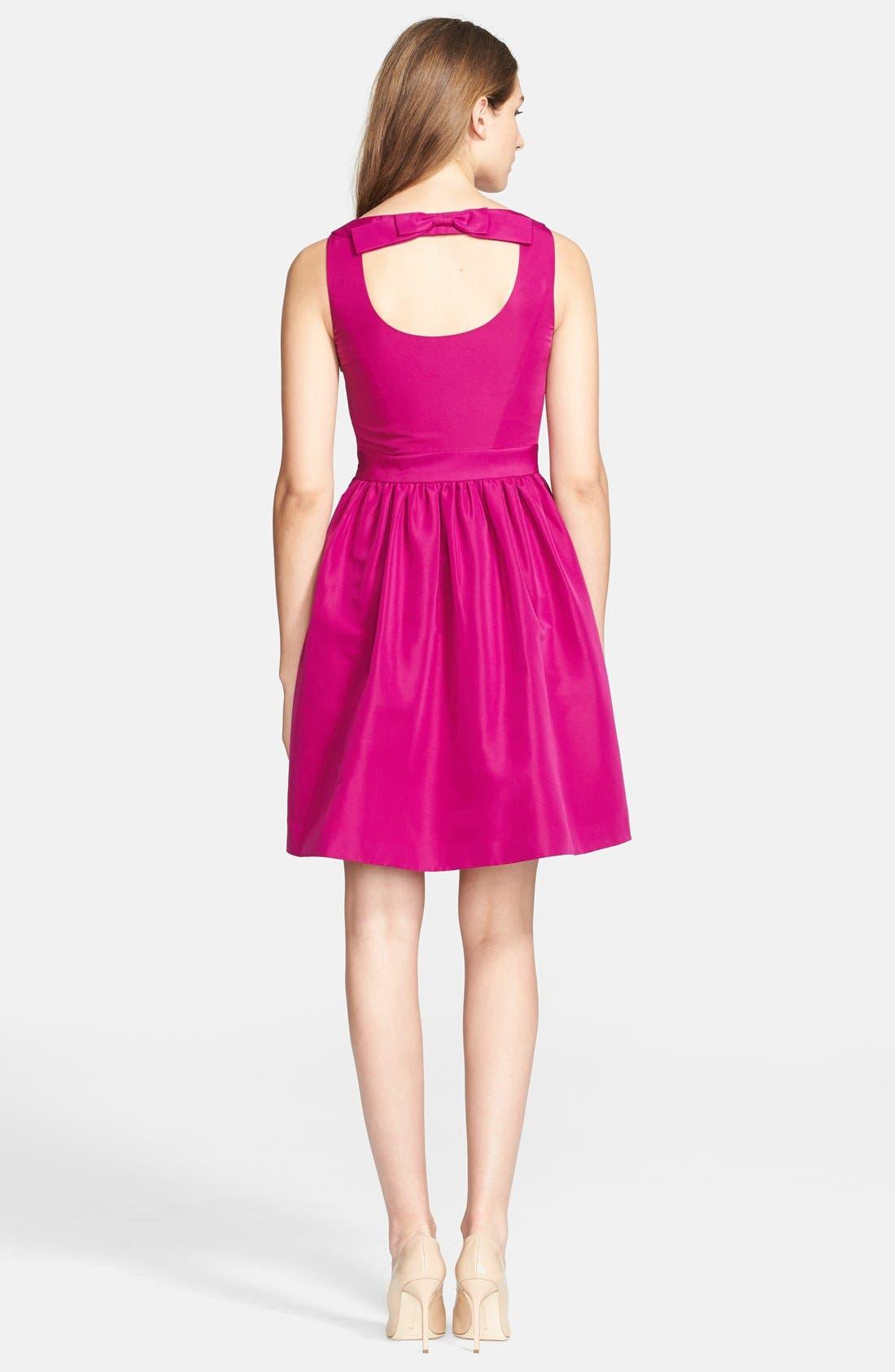 Alternate Image 2  - Ted Baker London 'Juletee' Stretch Woven Fit & Flare Dress