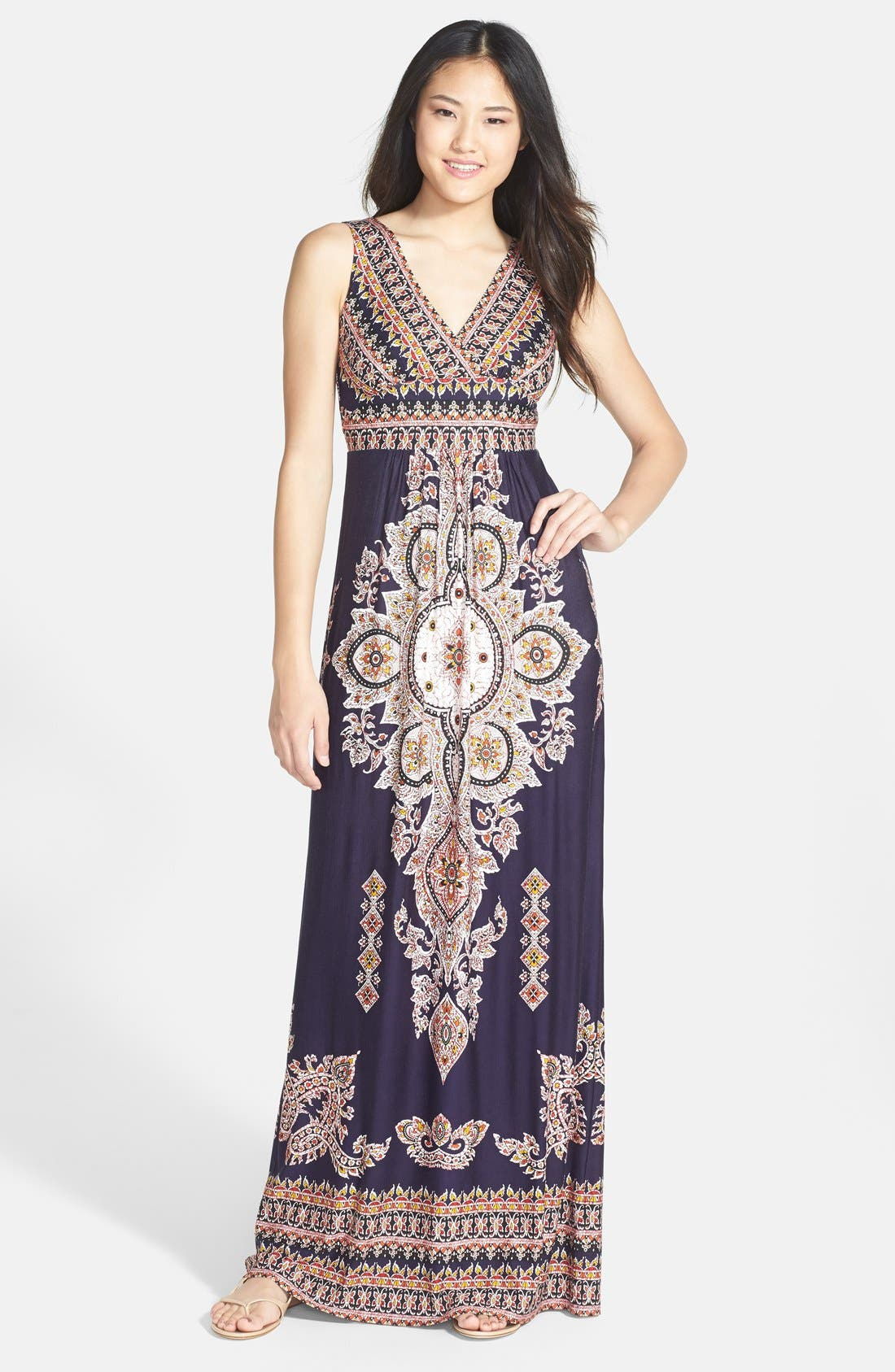 Alternate Image 1 Selected - Felicity & Coco Jersey Maxi Dress (Regular & Petite) (Nordstrom Exclusive)
