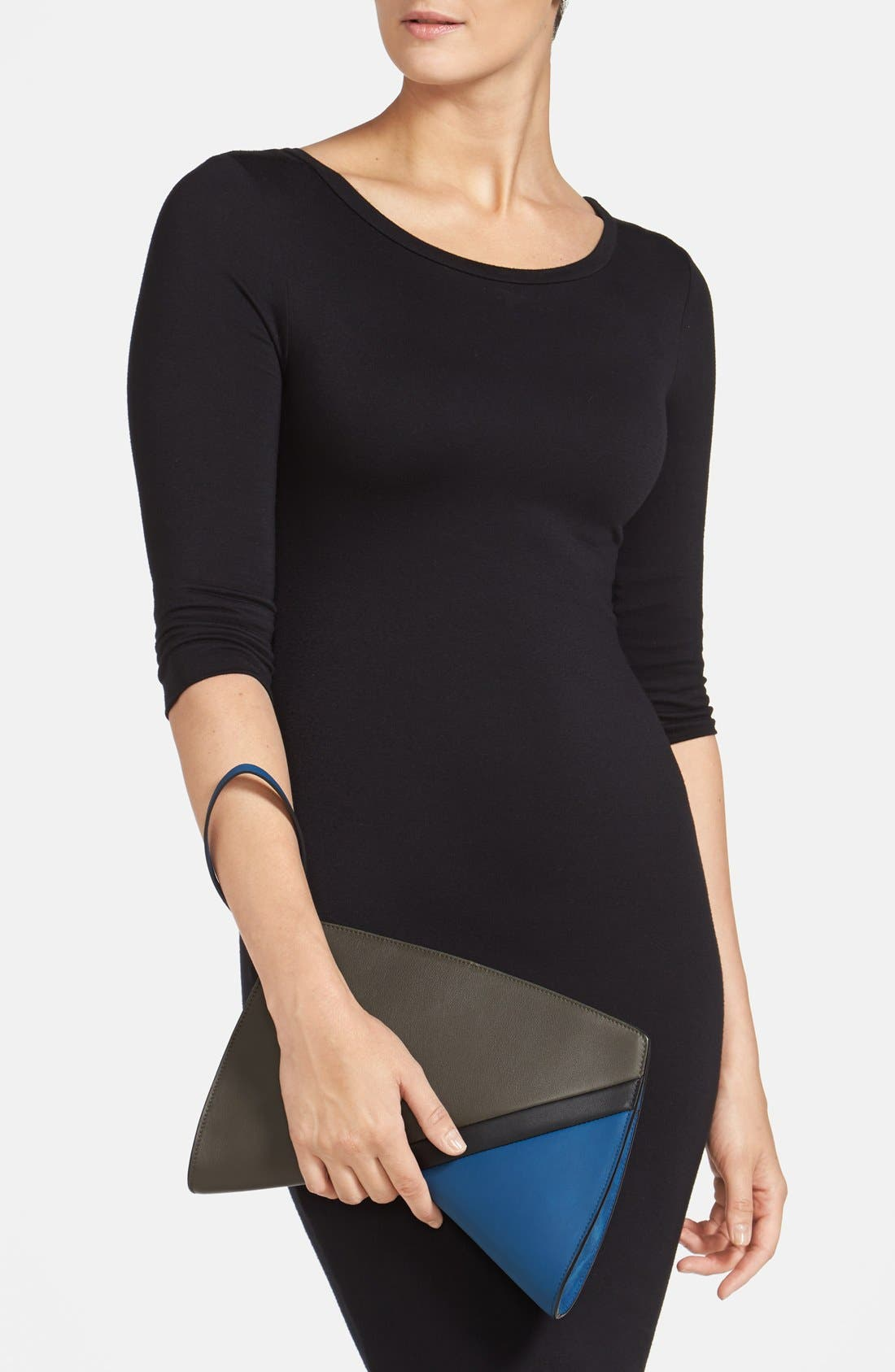 Alternate Image 2  - Narciso Rodriguez 'Boomerang' Leather Clutch