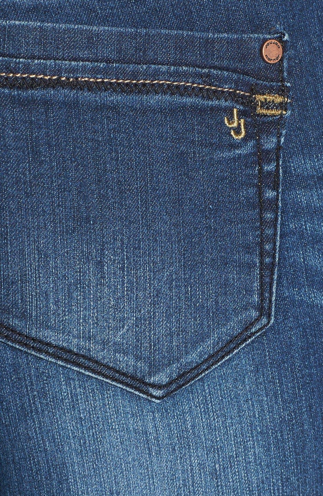 Alternate Image 3  - Jou Jou Mini Bootcut Jeans (Juniors)