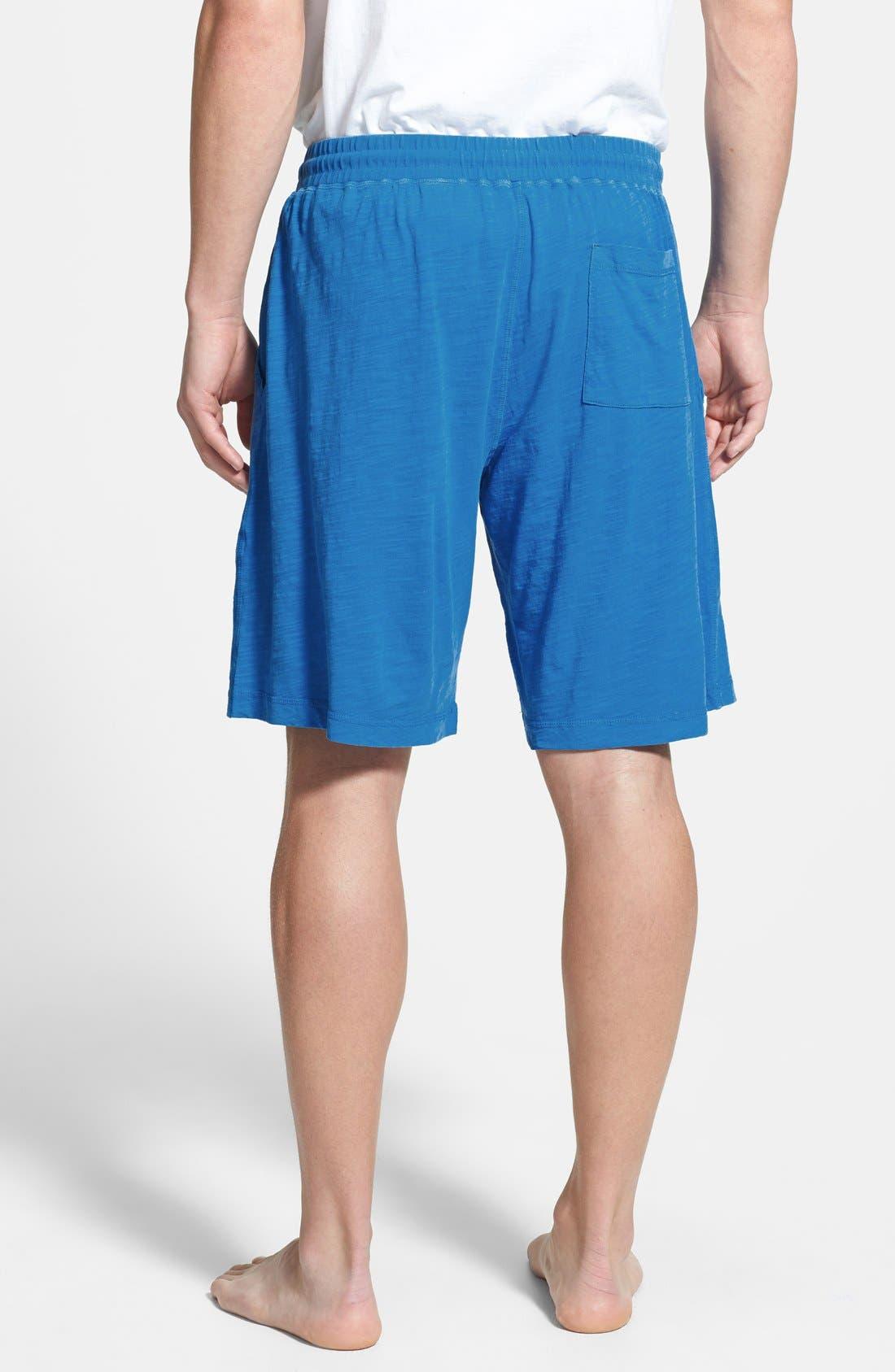Alternate Image 2  - Daniel Buchler Cotton Slub Lounge Shorts