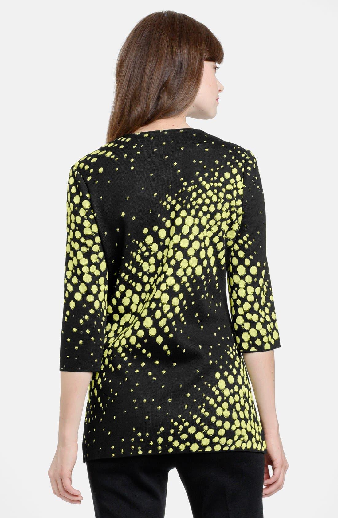 Alternate Image 2  - Ming Wang Three Quarter Sleeve Embellished Knit Tunic