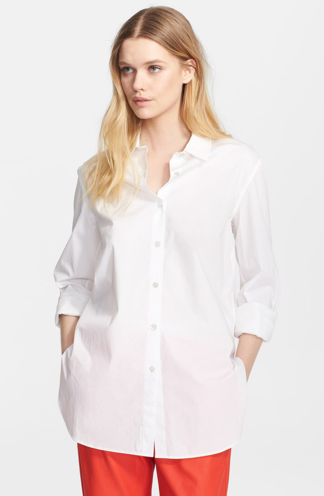 Alternate Image 1 Selected - T by Alexander Wang Poplin Shirt
