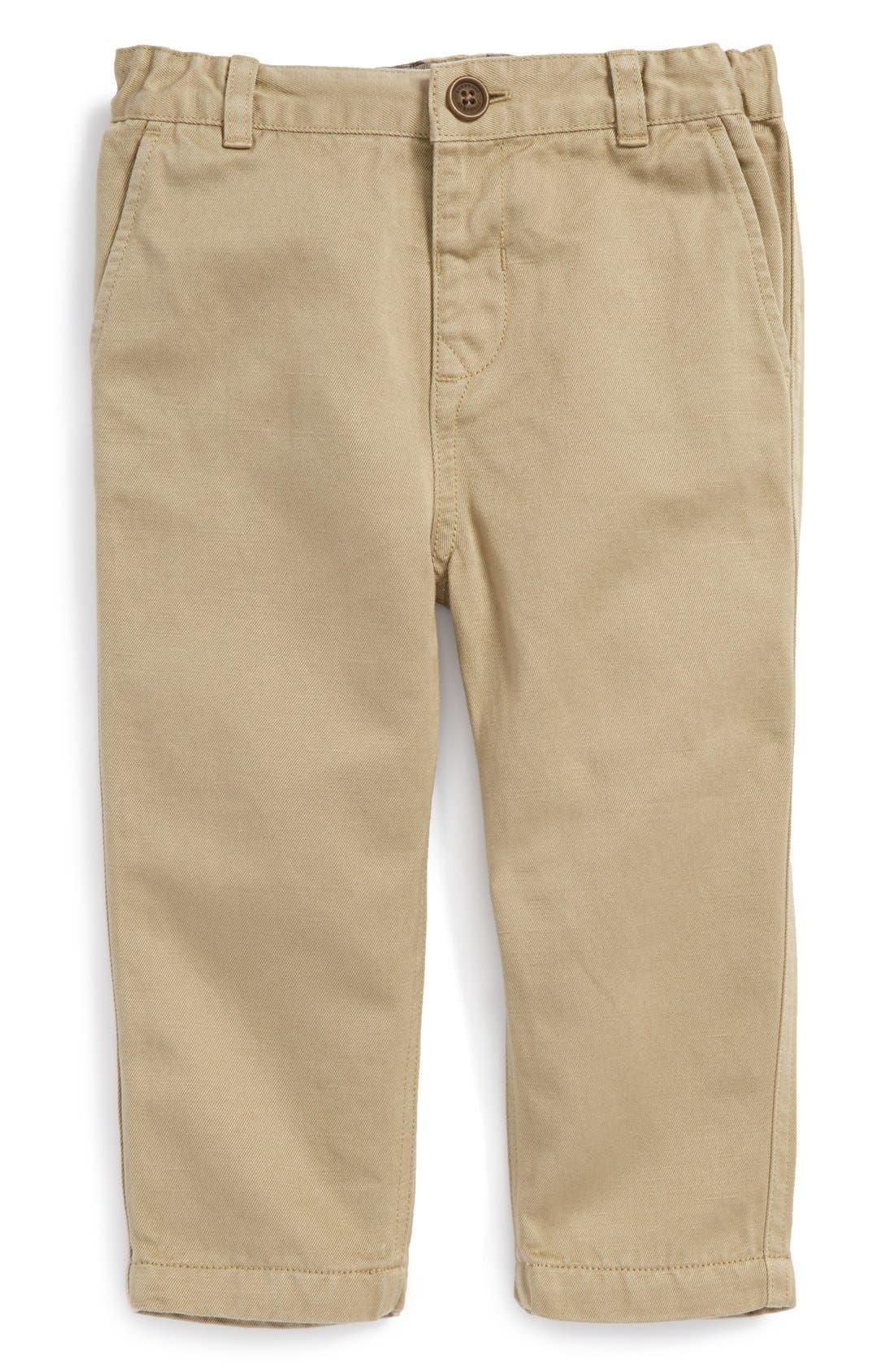 Main Image - Burberry Chino Pants (Baby Boys)