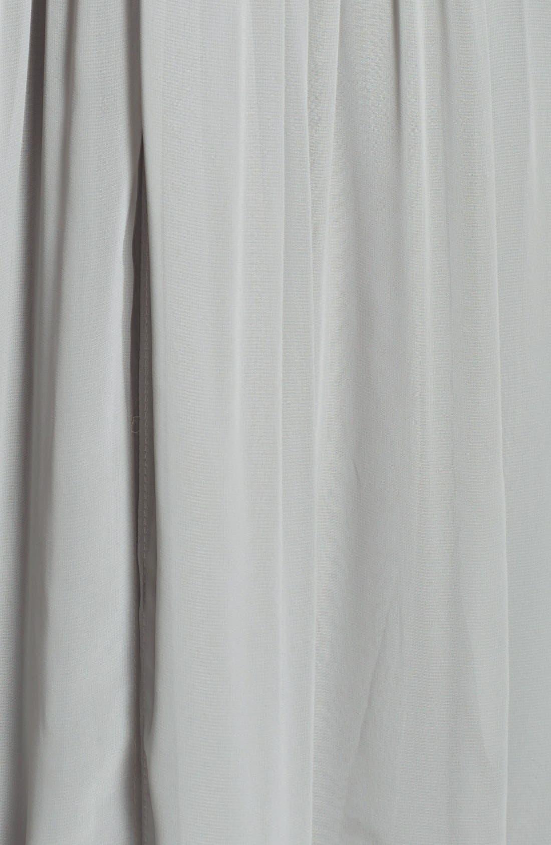 Alternate Image 4  - Jenny Yoo 'Aidan' Convertible Strapless Chiffon Gown
