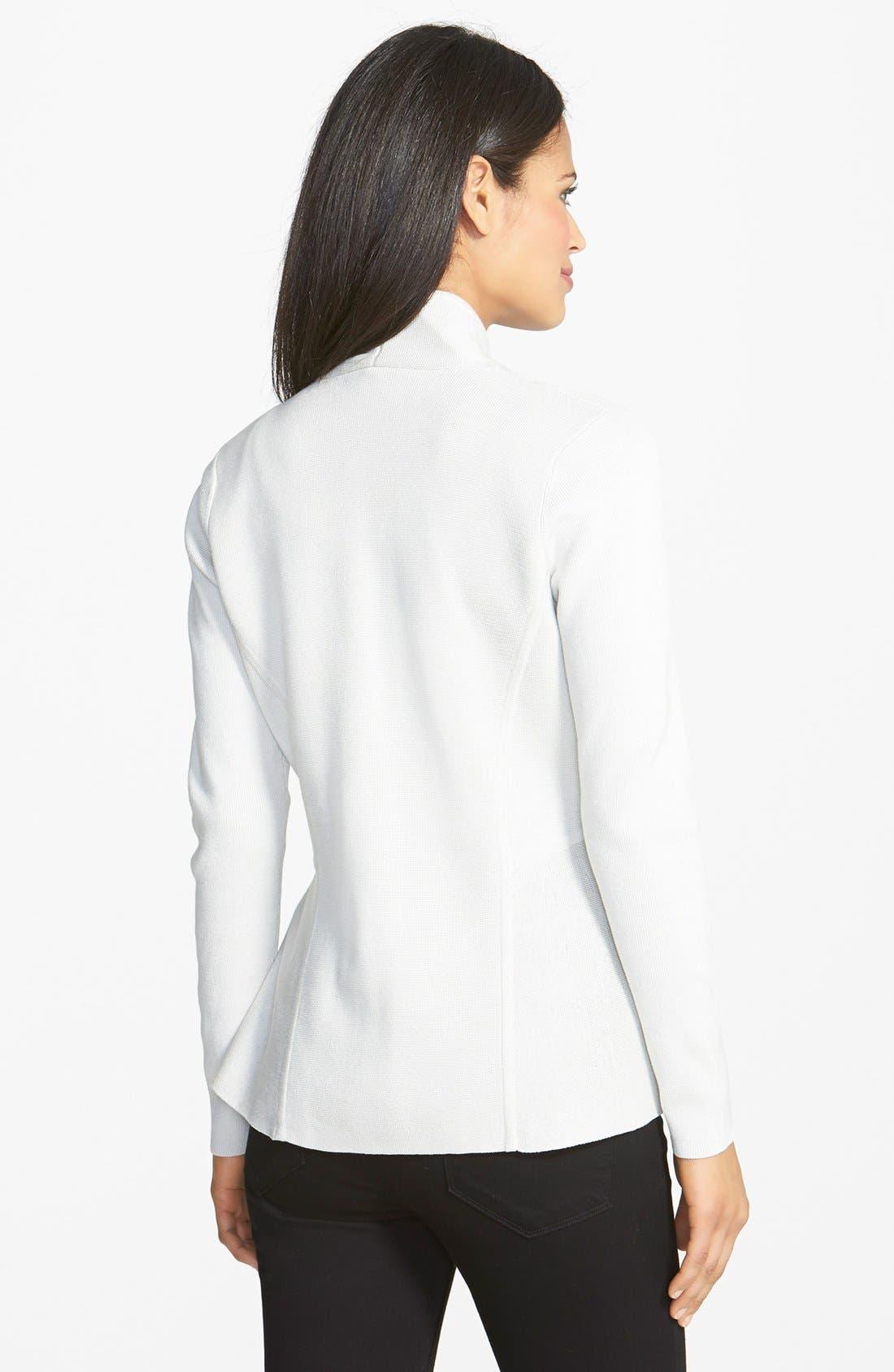 Alternate Image 2  - Eileen Fisher Fitted Sweater Jacket (Regular & Petite)