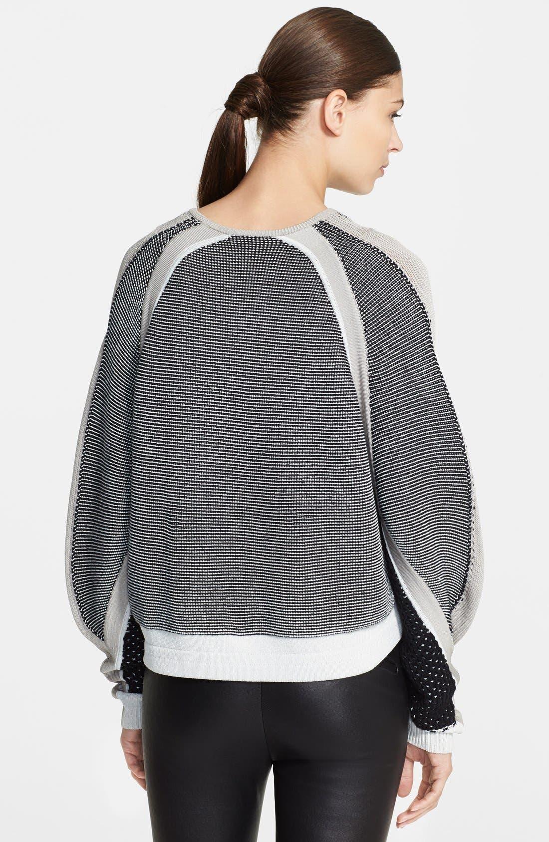 Alternate Image 2  - Helmut Lang 'Converging Panels' Sweater