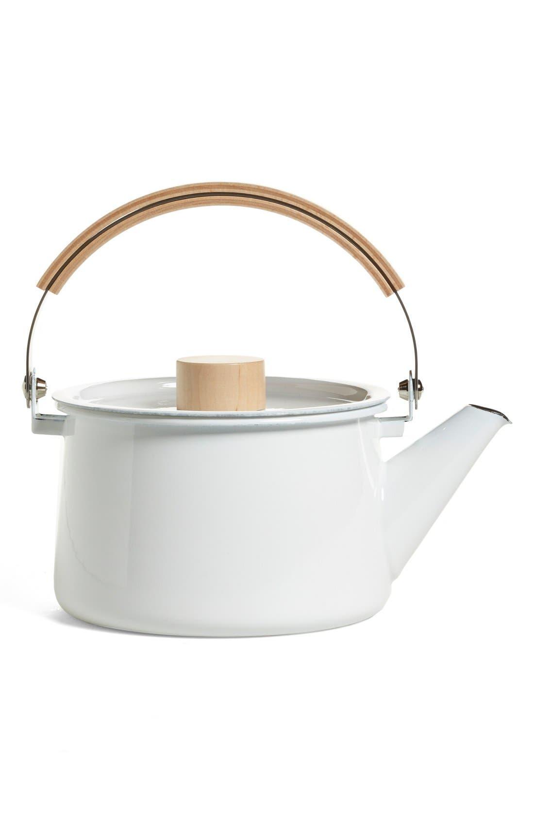 Alternate Image 1 Selected - saikai 'Kaico' Enameled Tea Kettle