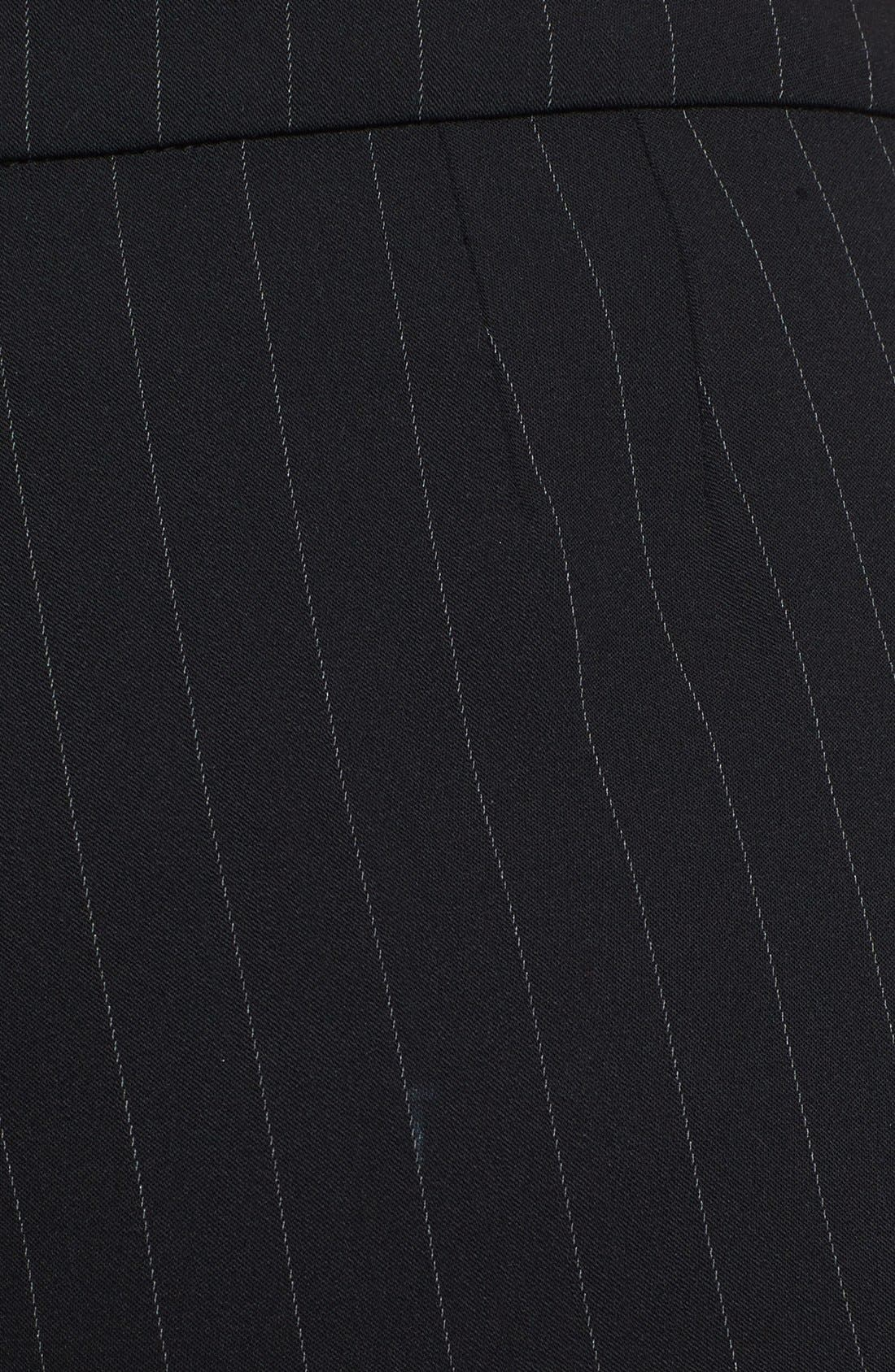 Alternate Image 4  - Armani Collezioni Pinstripe Pants