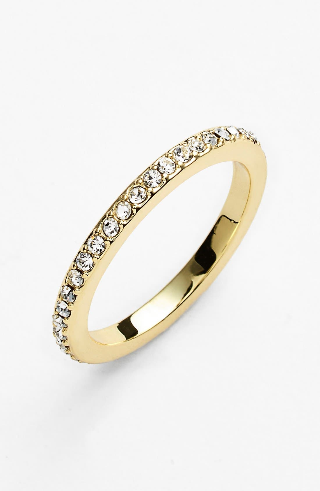 Main Image - Ariella Collection Pavé Midi Ring