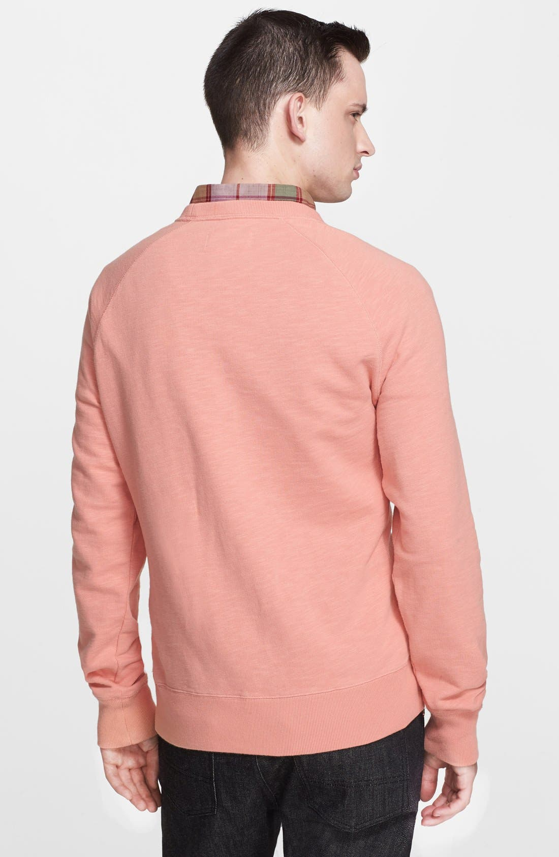Alternate Image 2  - Jack Spade 'Price' Crewneck Sweatshirt