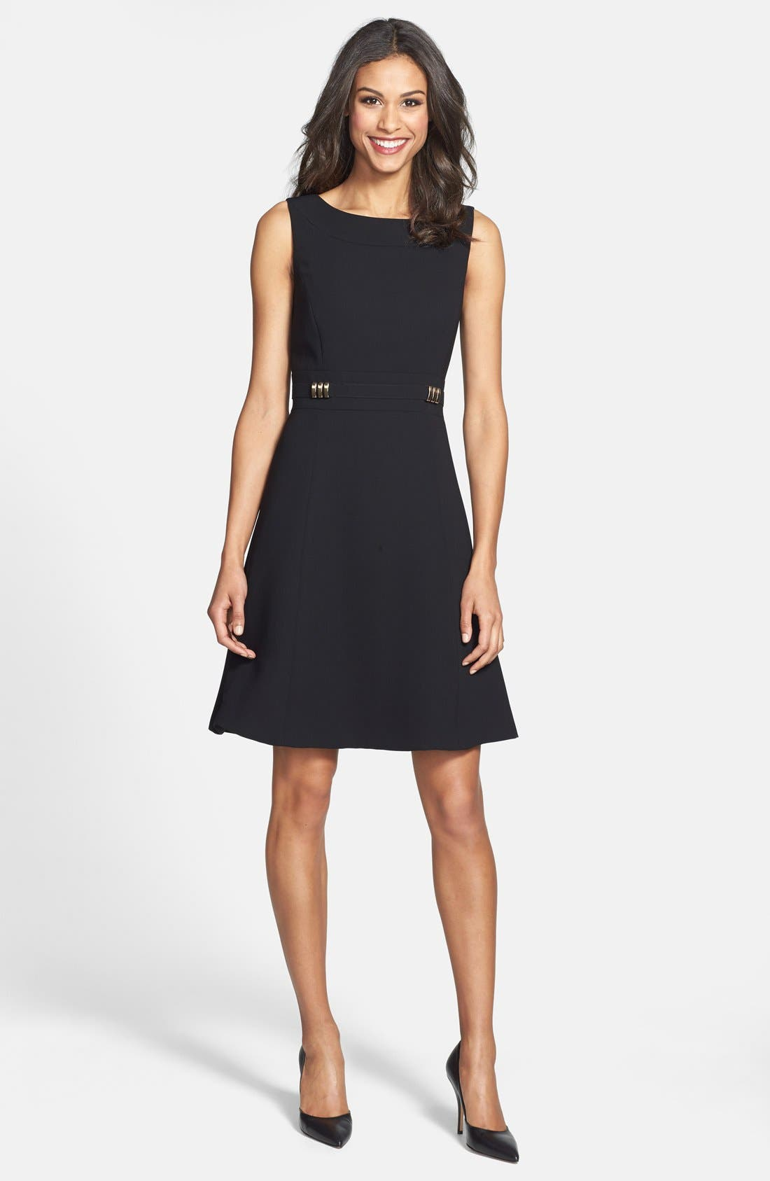 Alternate Image 3  - Tahari Sleeveless Fit & Flare Dress (Online Only)