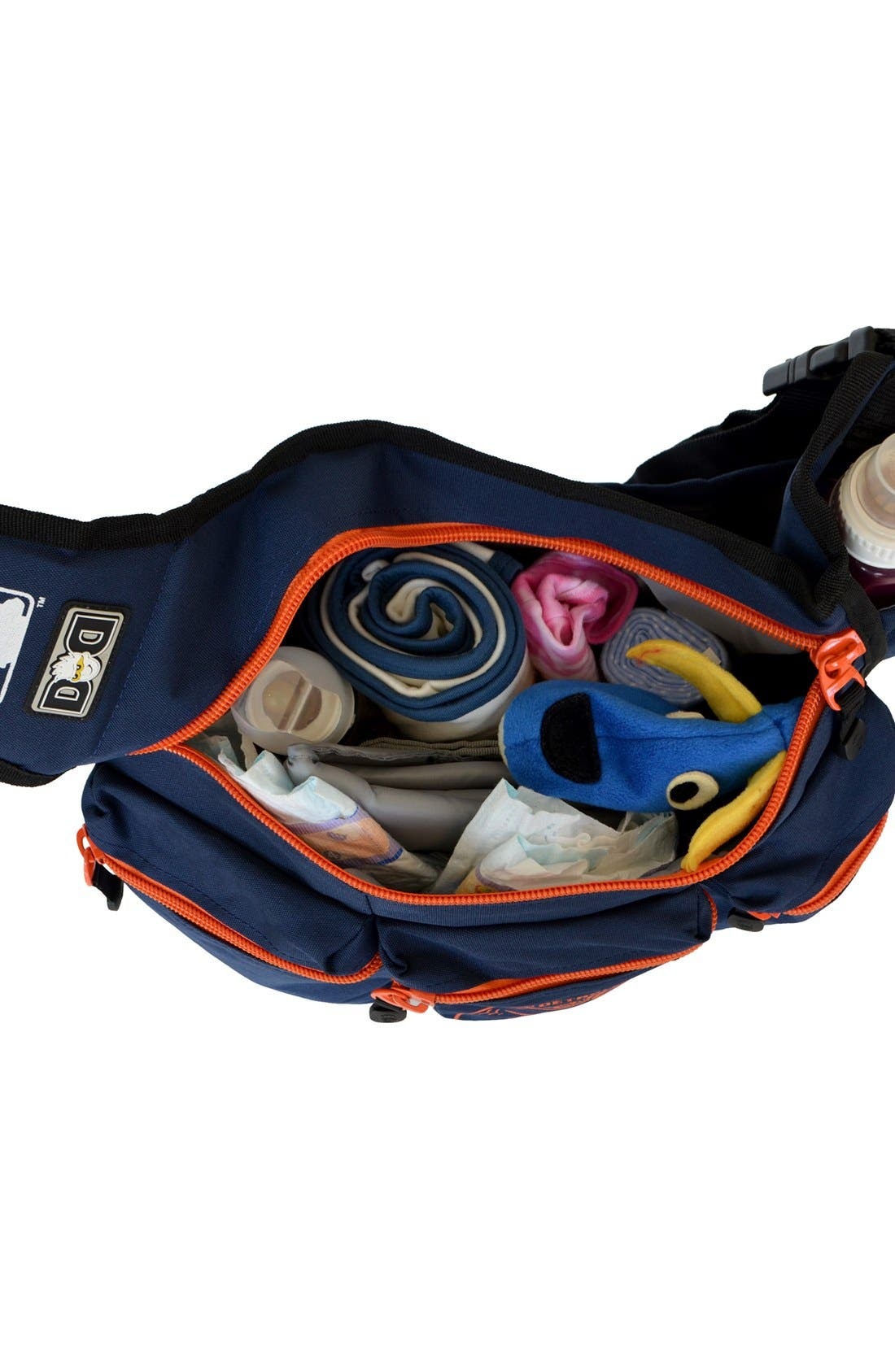 Alternate Image 2  - Diaper Dude 'Houston Astros' Messenger Diaper Bag