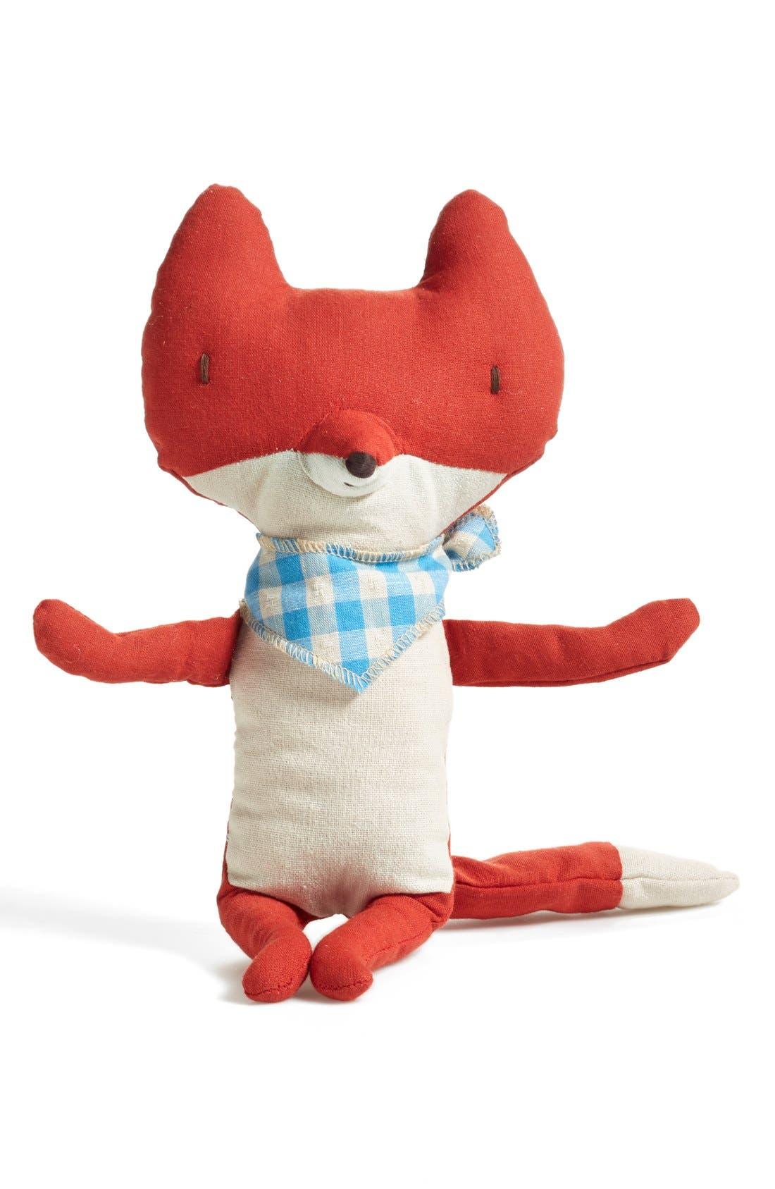 Main Image - Maileg 'Fox With Scarf' Stuffed Animal
