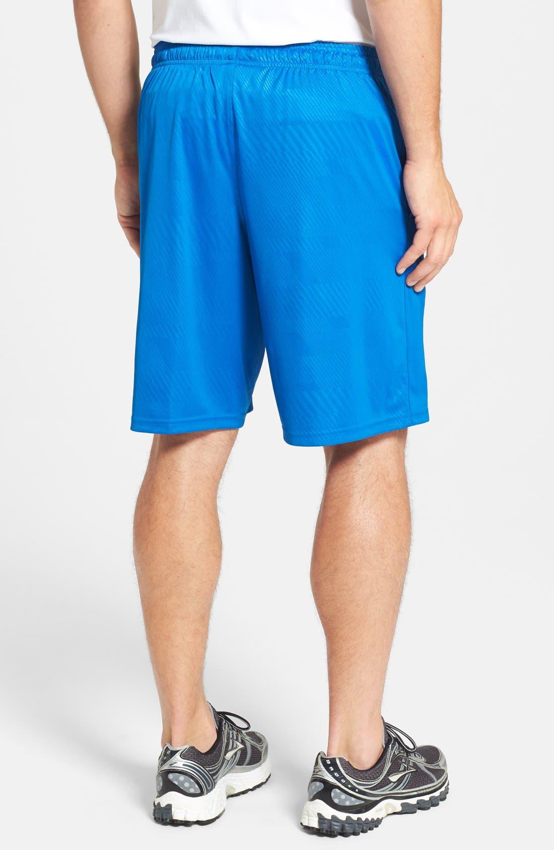 Alternate Image 2  - Under Armour 'Micro - HeatGear®' Printed Knit Shorts