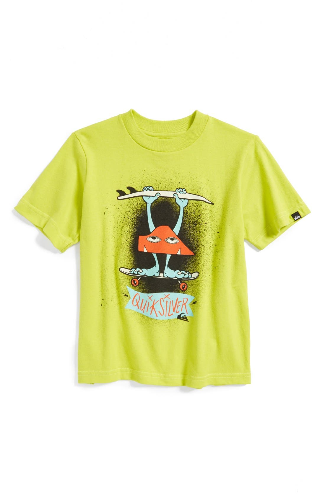 Alternate Image 1 Selected - Quiksilver 'Grem Grom' Graphic T-Shirt (Toddler Boys)