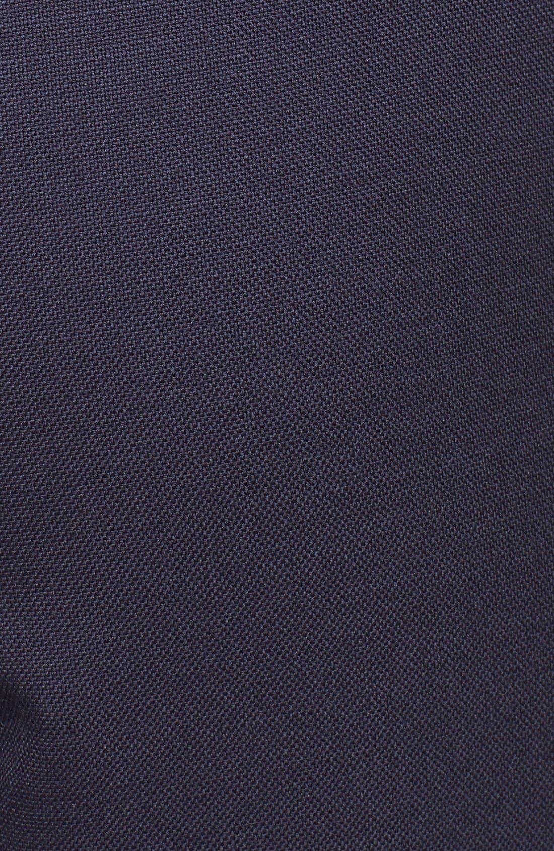 Alternate Image 3  - Tory Burch 'Fern' Stretch Wool Wide Leg Crop Pants