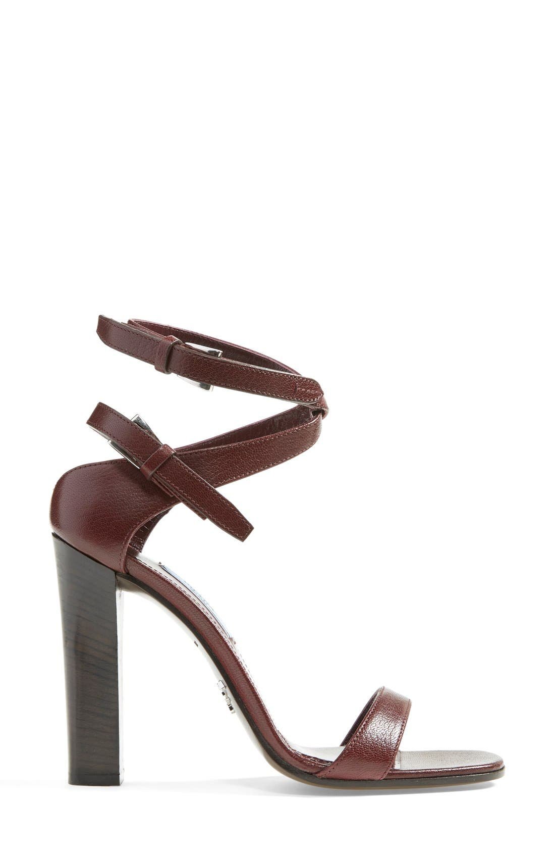 Alternate Image 4  - Prada Double Ankle Strap Sandal (Women)
