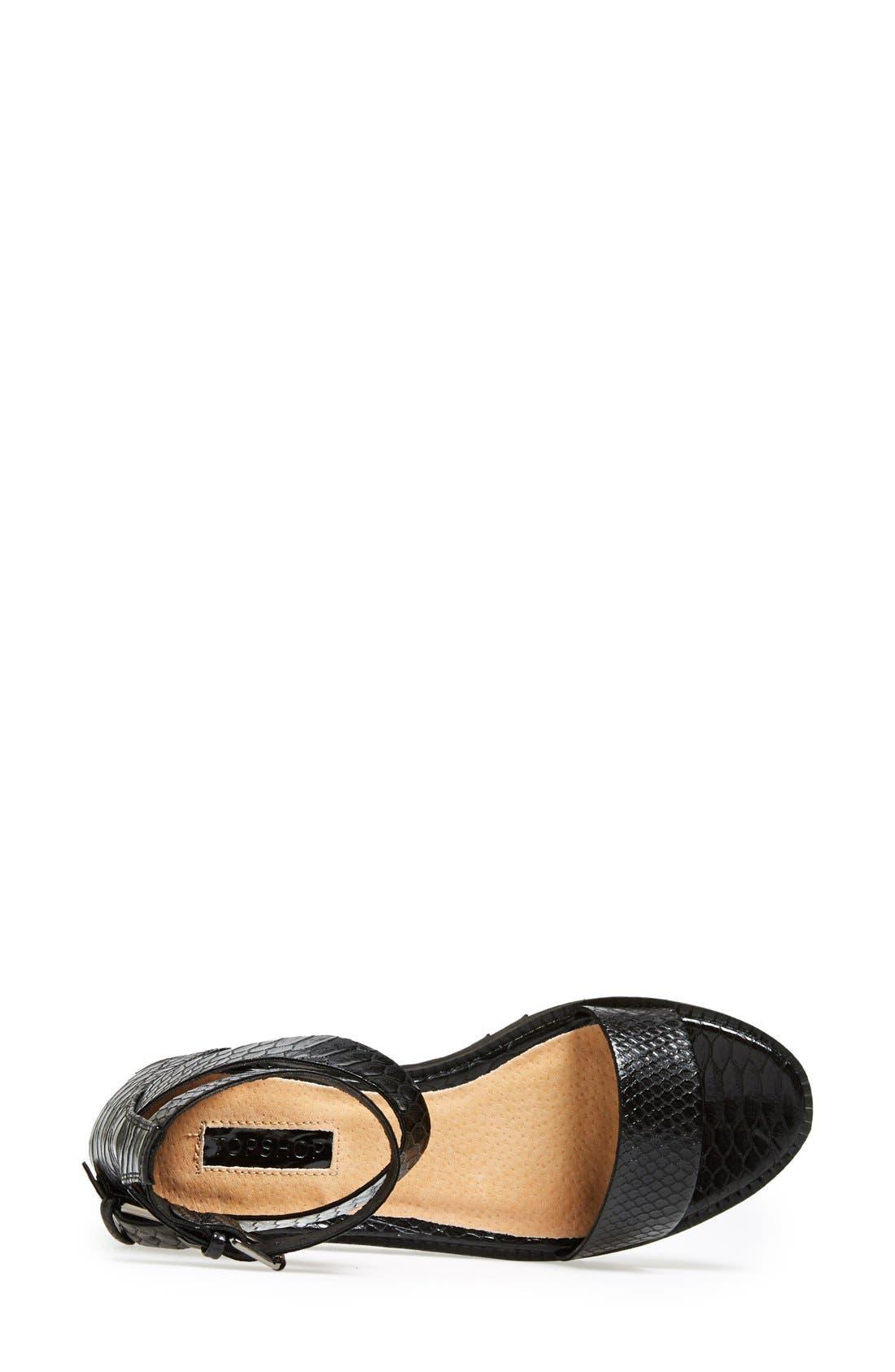 Alternate Image 3  - Topshop 'Free Tread' Sandal