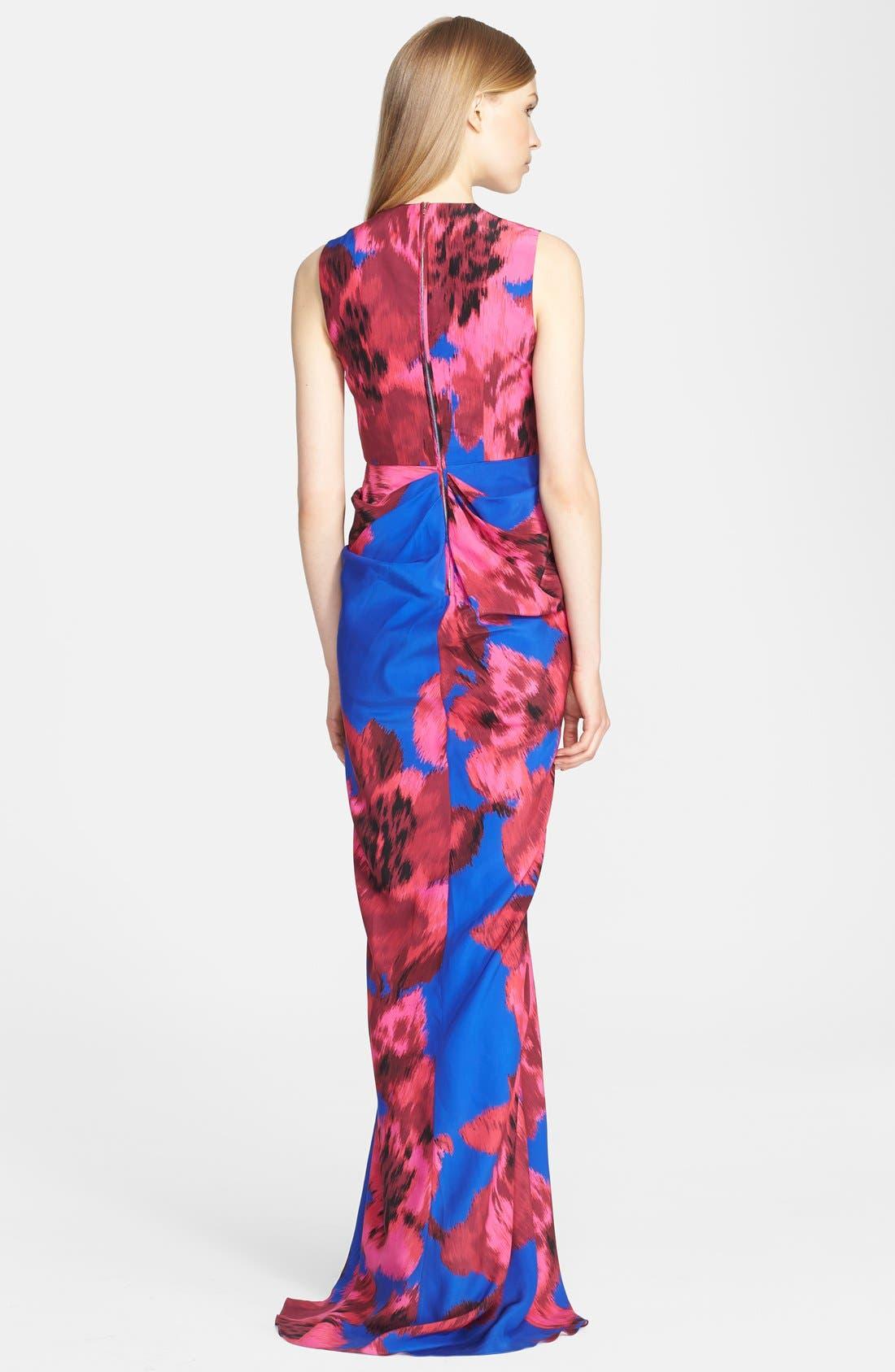 Alternate Image 2  - Thakoon Print Silk Gown