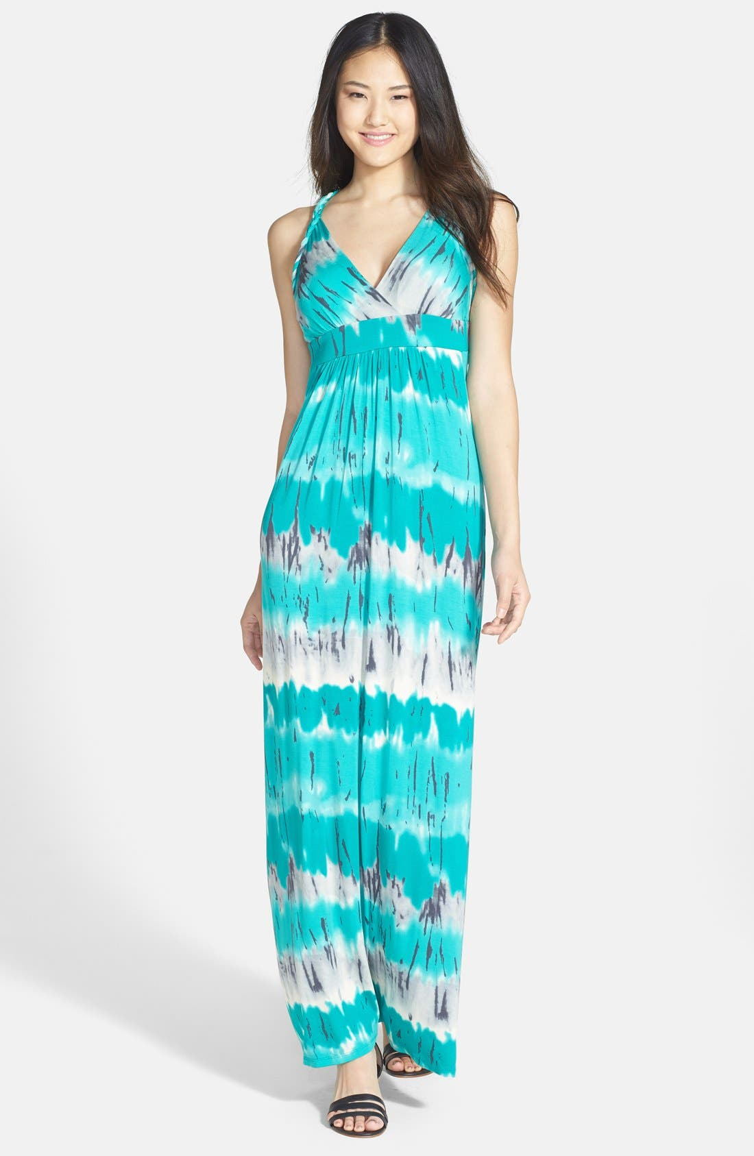 Alternate Image 1 Selected - Felicity & Coco Ombré Jersey Maxi Dress (Nordstrom Exclusive)