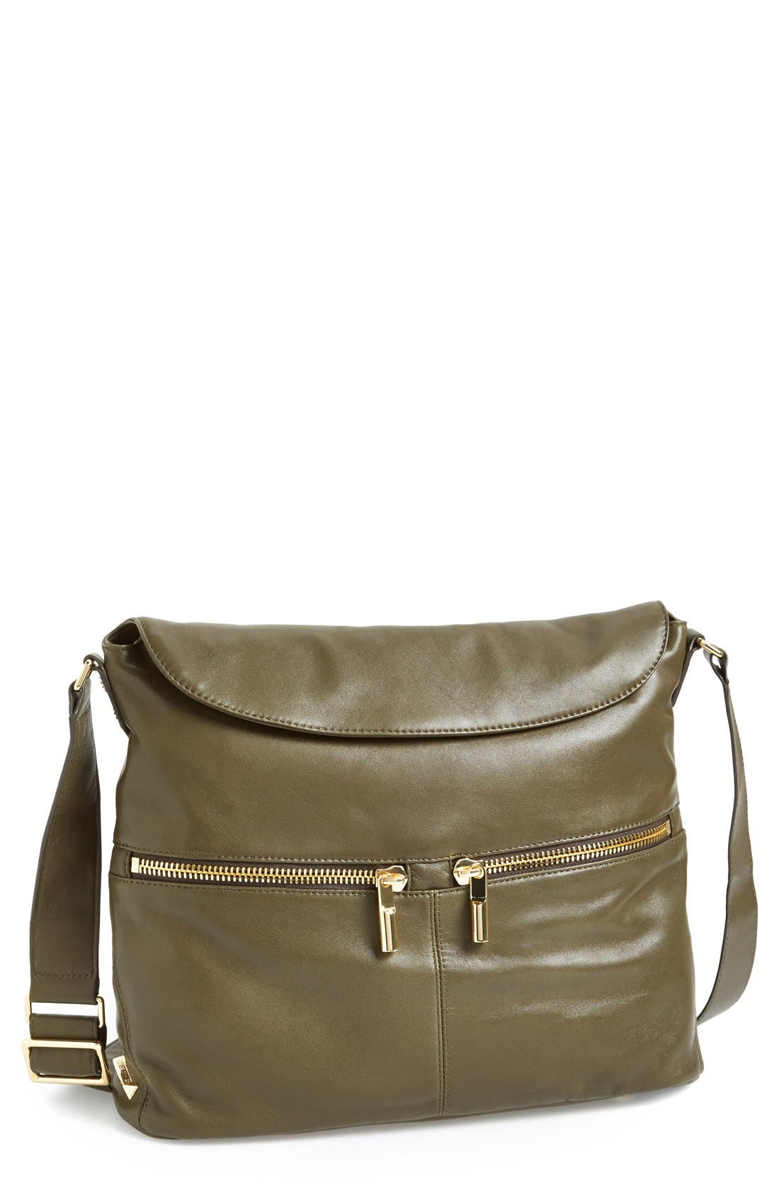 Main Image - Elizabeth and James 'James' Convertible Leather Hobo