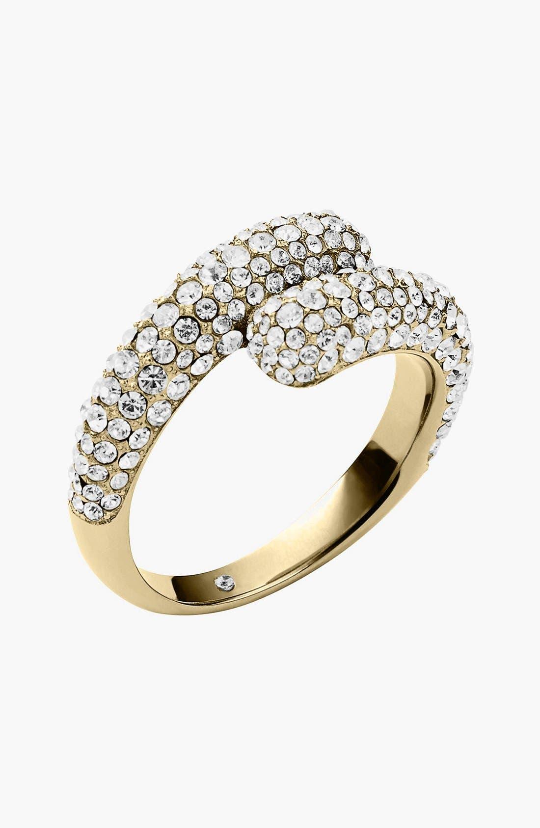 Alternate Image 1 Selected - Michael Kors Pavé Wrap Ring