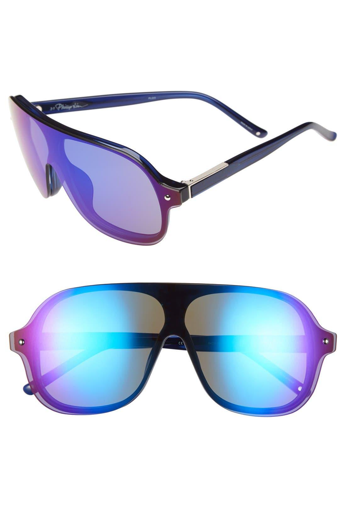 Alternate Image 1 Selected - 3.1 Phillip Lim 68mm Aviator Sunglasses