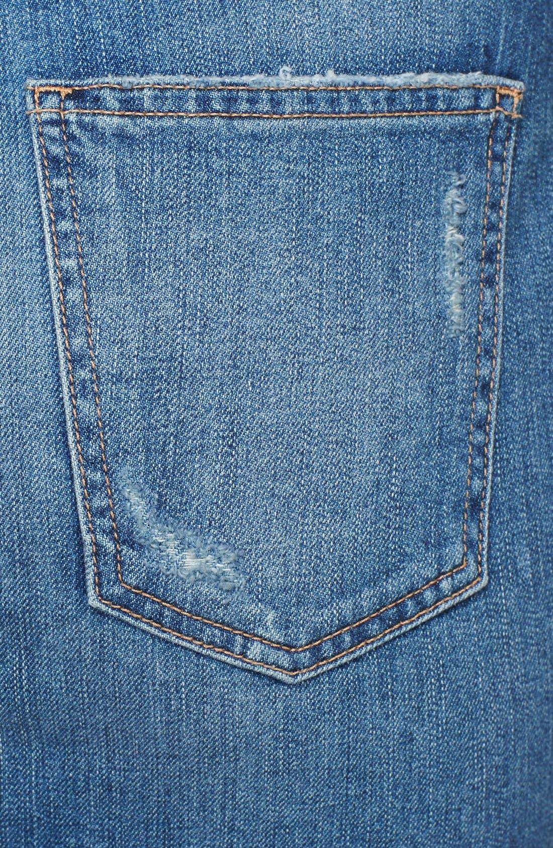 Alternate Image 3  - Current/Elliott 'The Stiletto' Denim Pencil Skirt