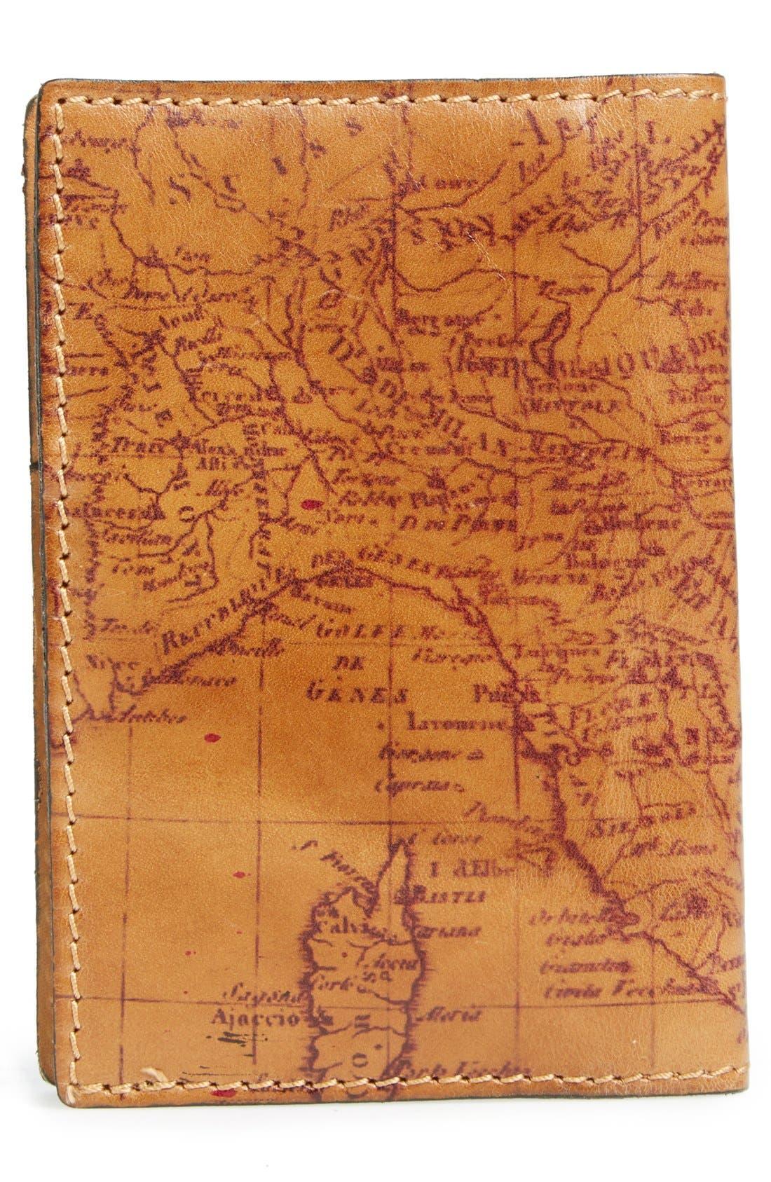 Alternate Image 3  - Patricia Nash Map Print Leather Passport Holder