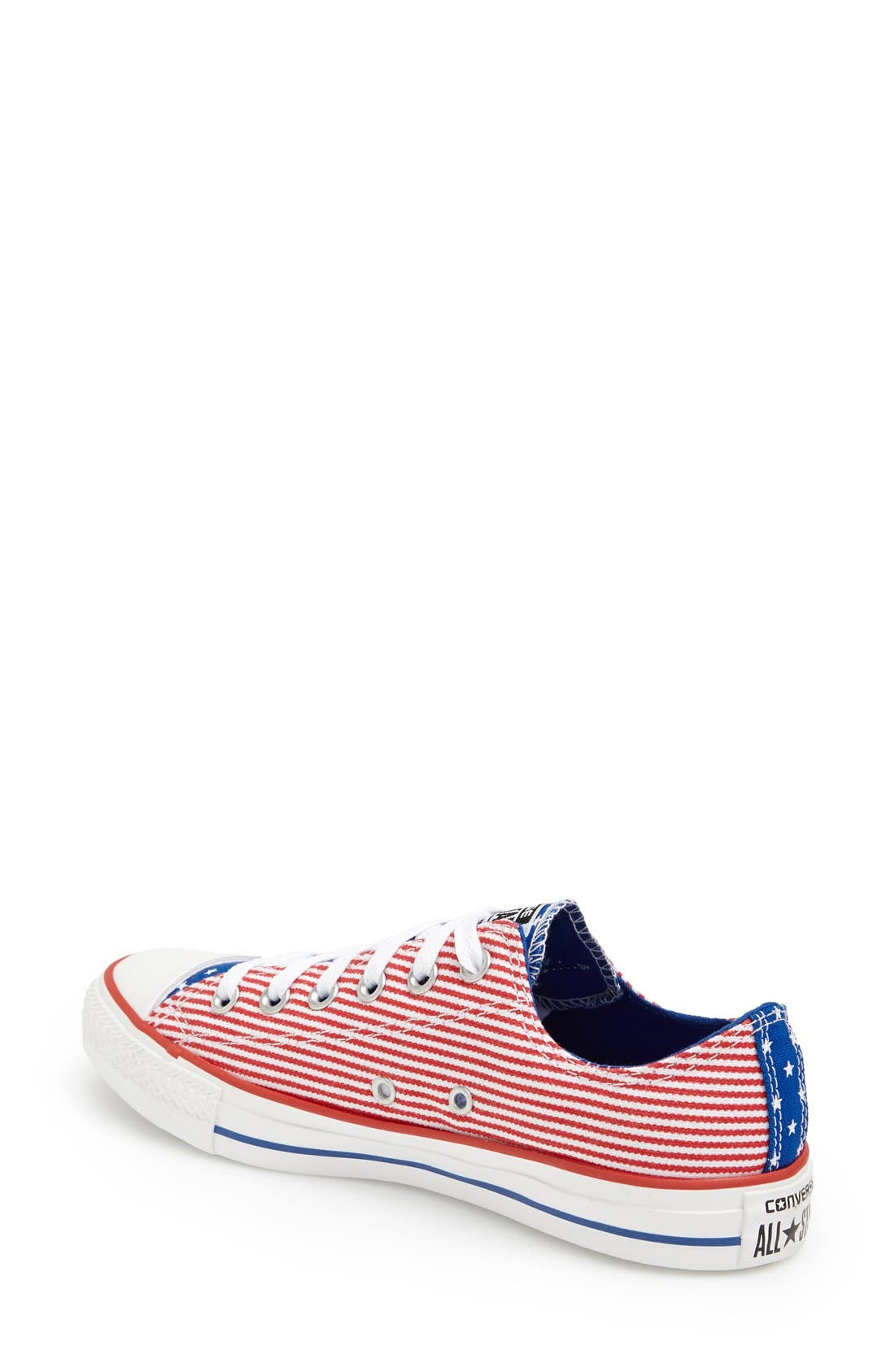 Alternate Image 2  - Converse Chuck Taylor® All Star® 'Ox - Stars and Bars' Low Top Sneaker (Women)