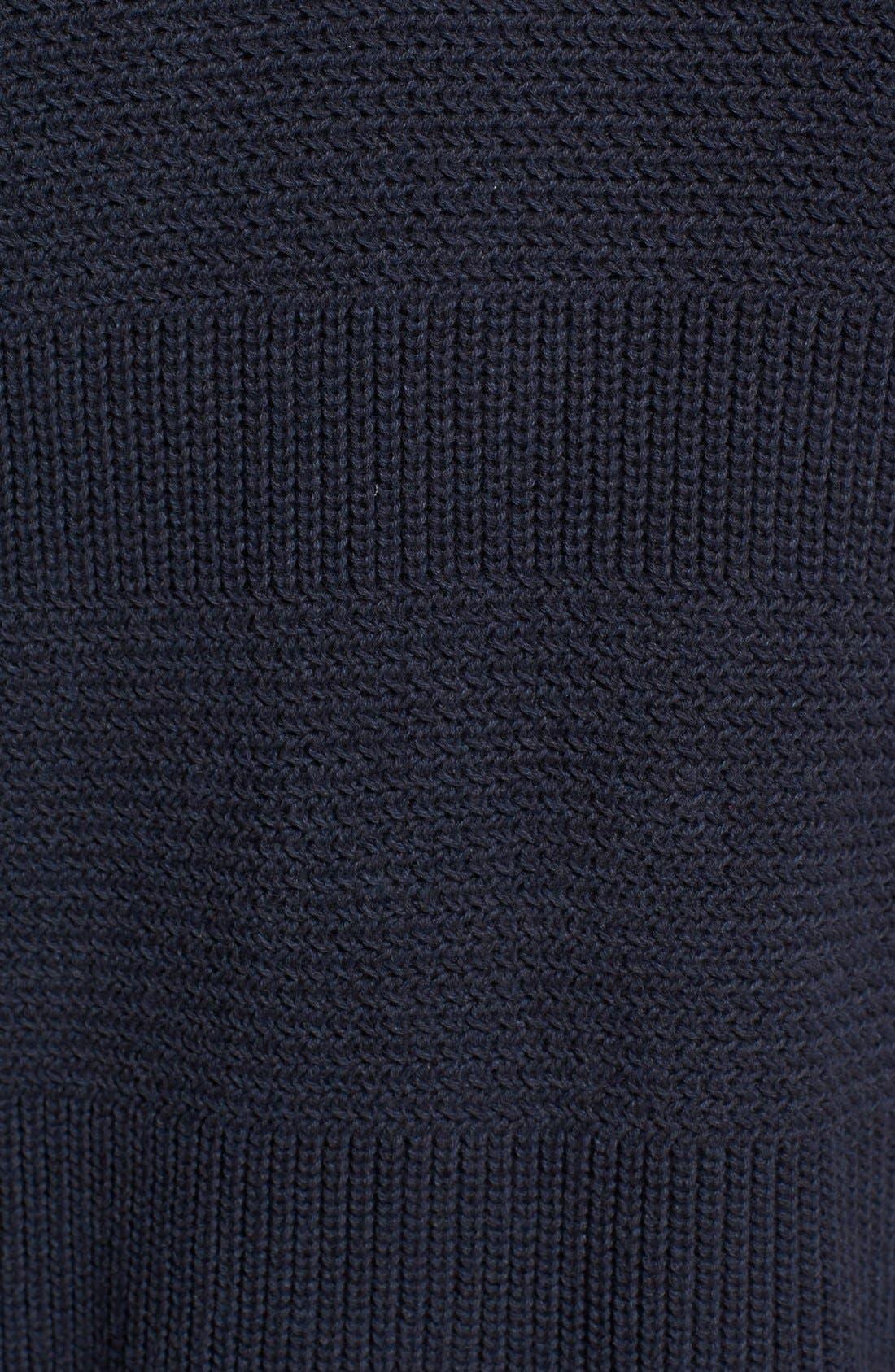 Alternate Image 3  - 1901 Textured Knit Shawl Cardigan