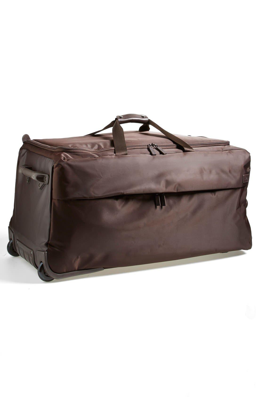 Alternate Image 5  - LIPAULT Paris Foldable Rolling Duffel Bag (30 Inch)