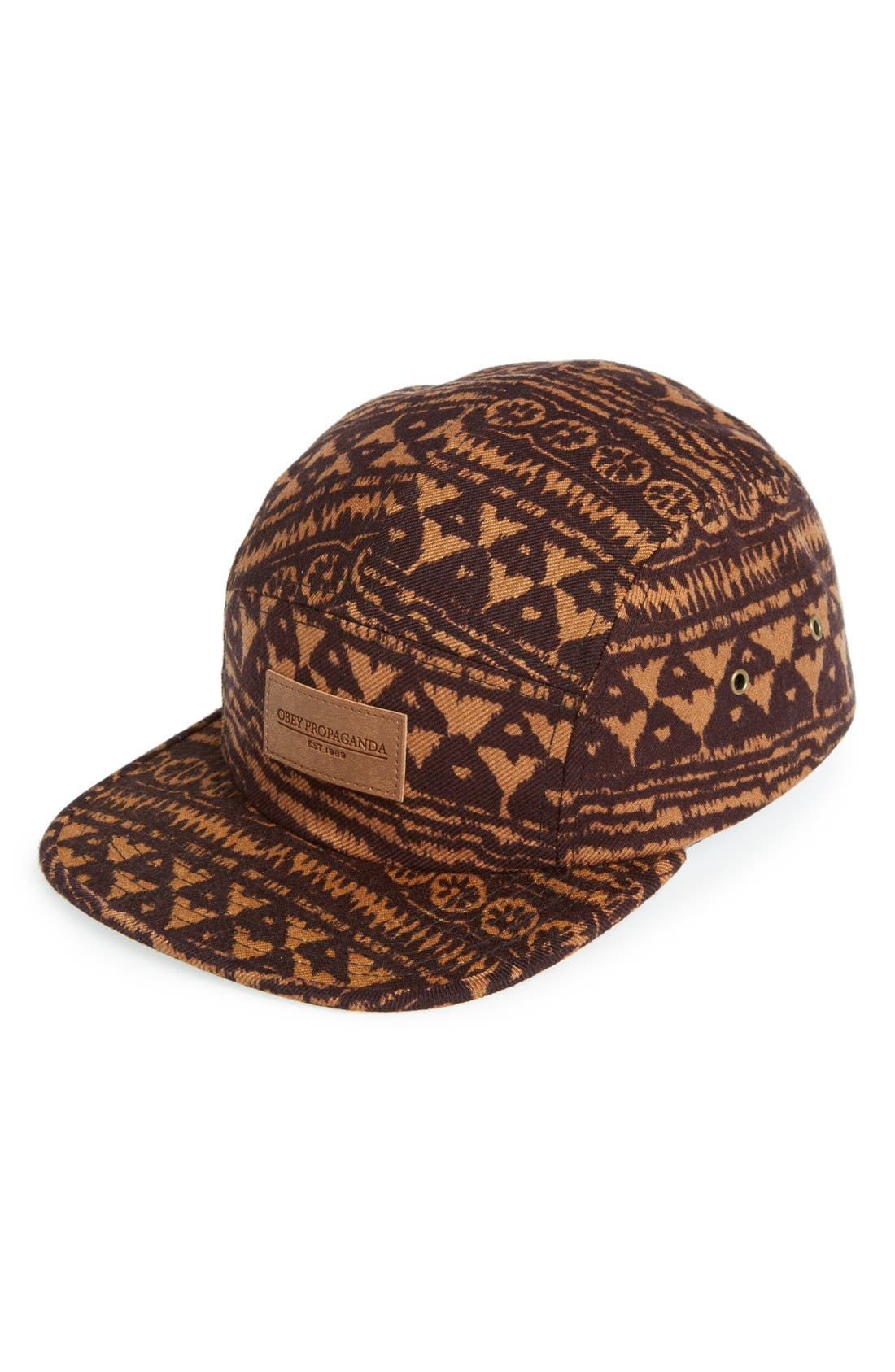 Alternate Image 1 Selected - Obey 'Naples' Five-Panel Cap